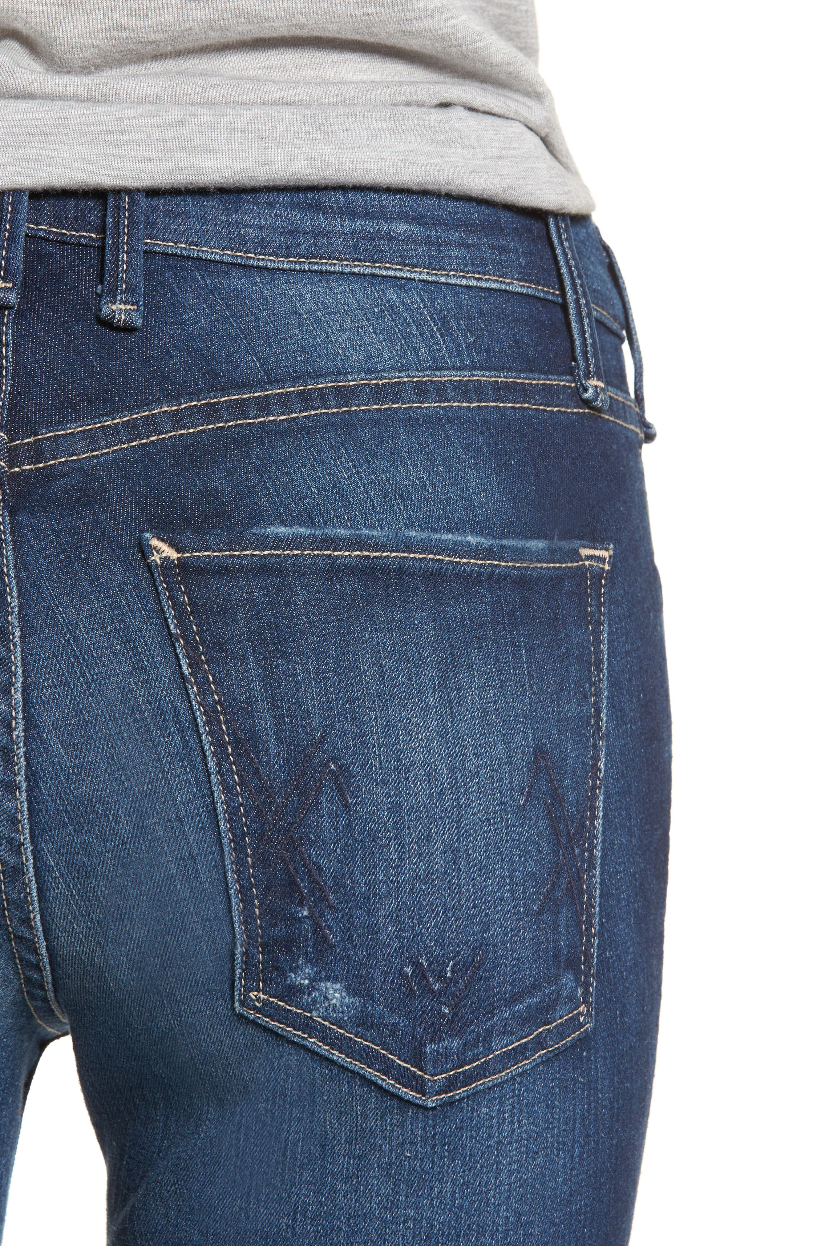 Newton Skinny Jeans,                             Alternate thumbnail 4, color,                             Chateau