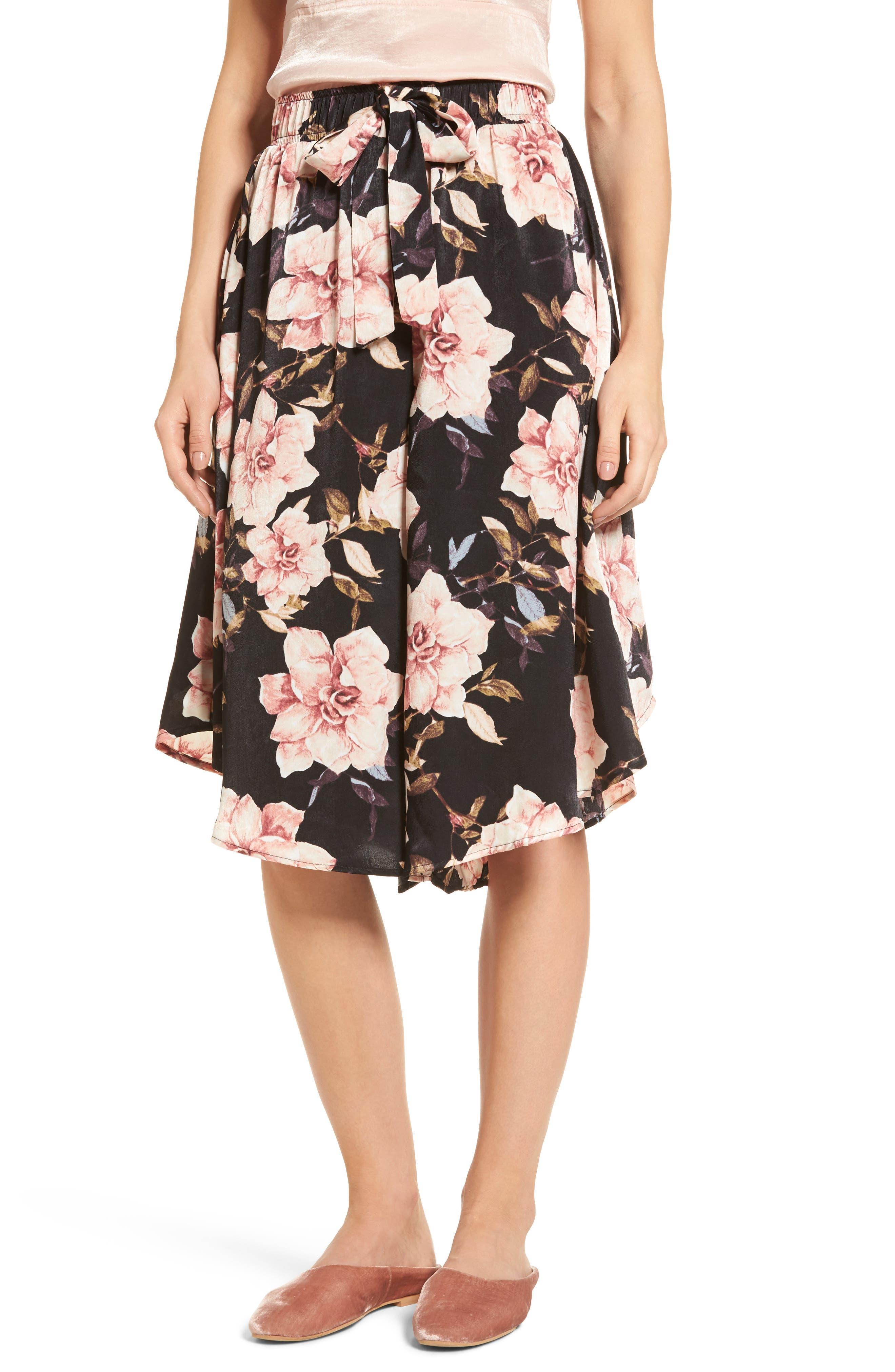 BP. Floral Culottes