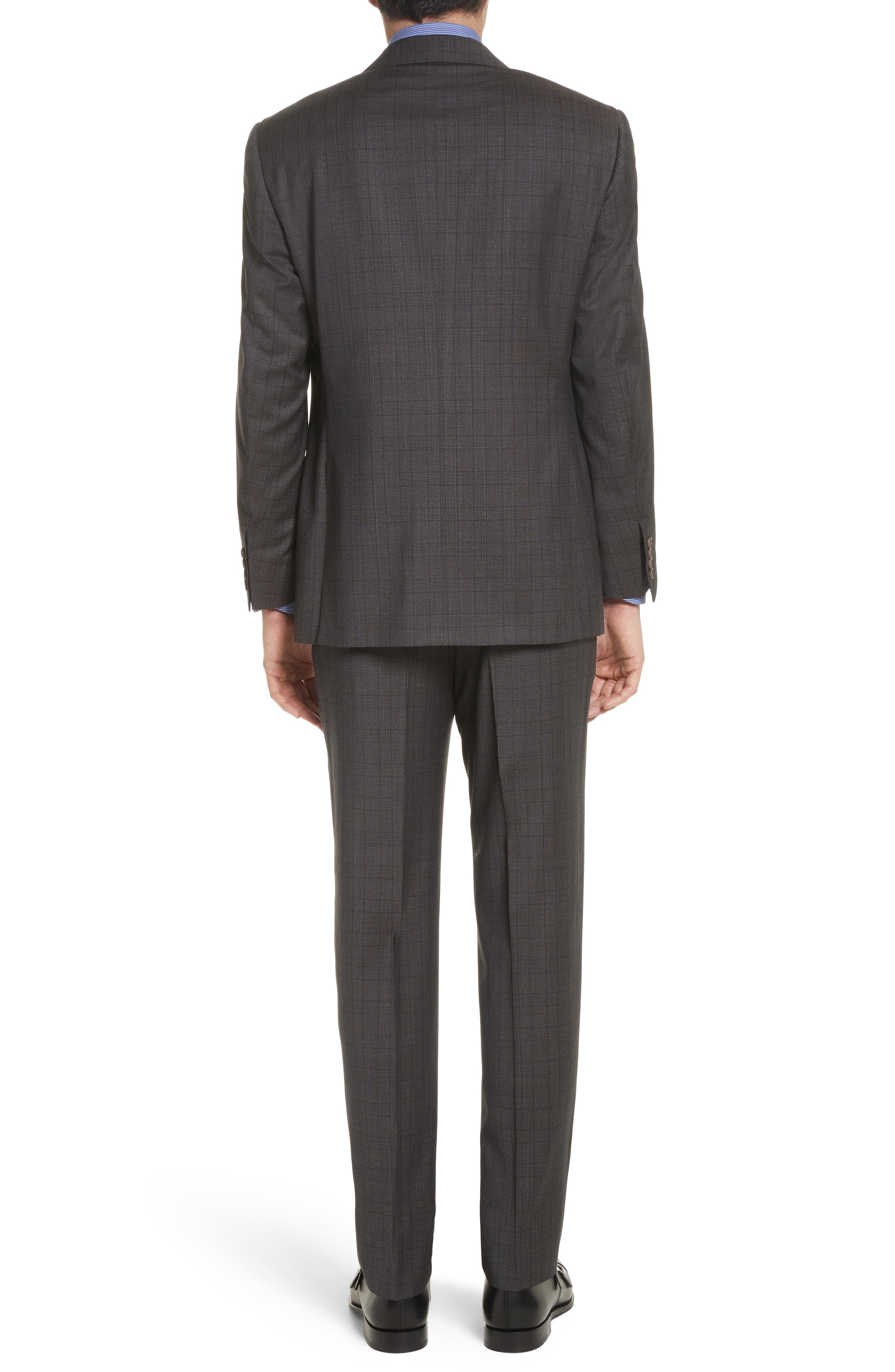 Alternate Image 2  - Canali Classic Fit Plaid Wool Suit