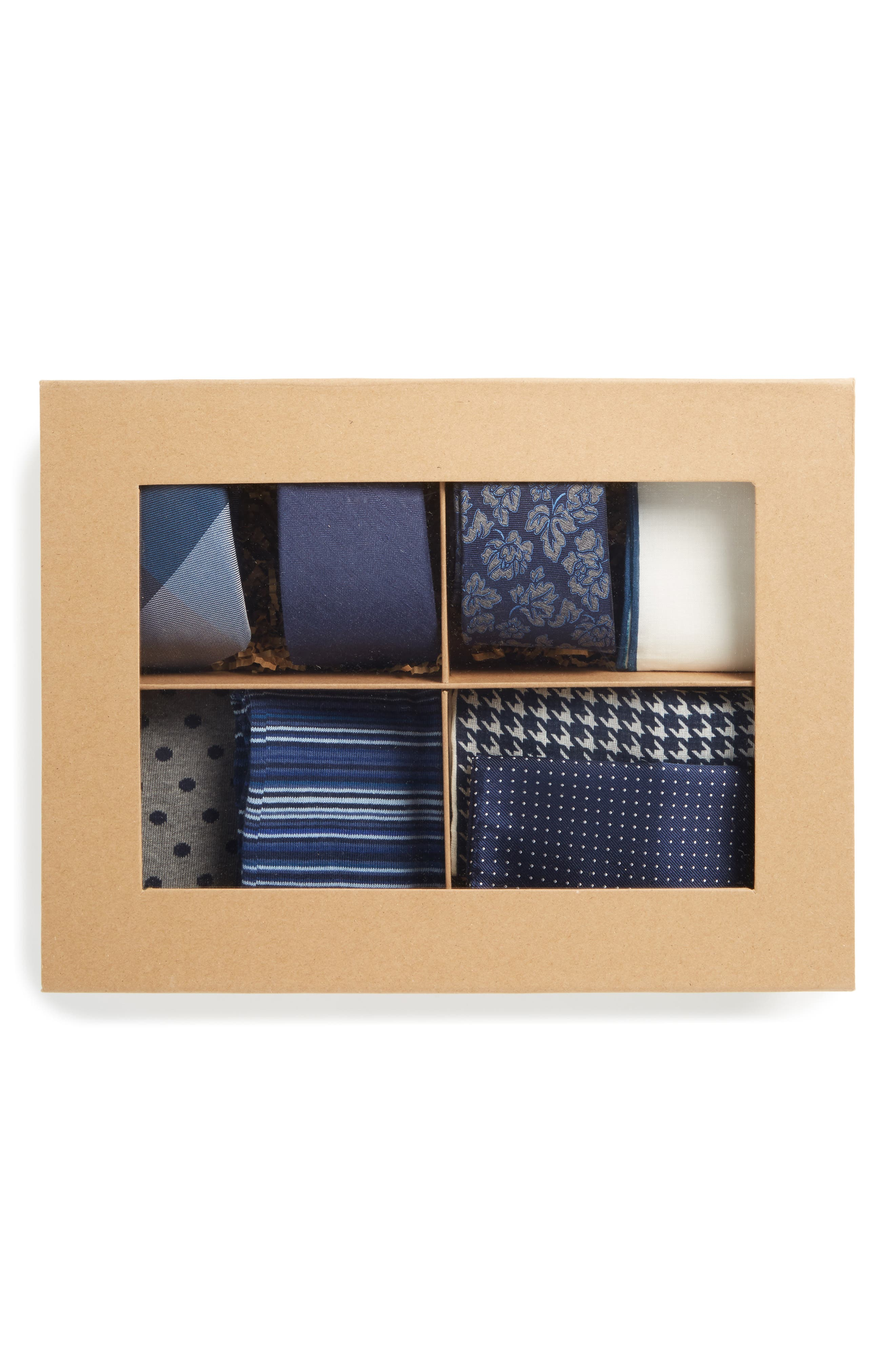 Large Style Box,                             Alternate thumbnail 2, color,                             Navy