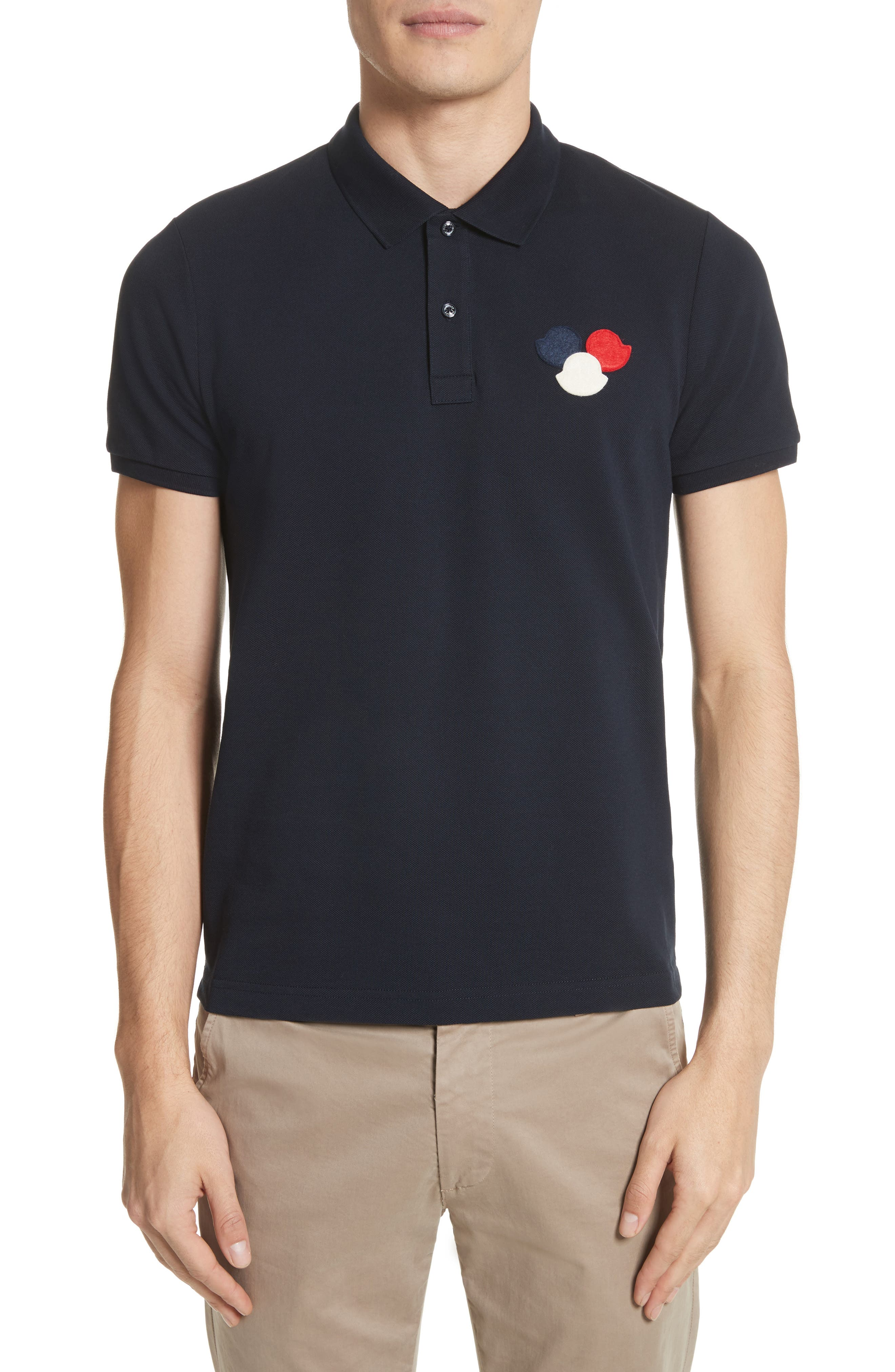 Moncler Three Bells Polo