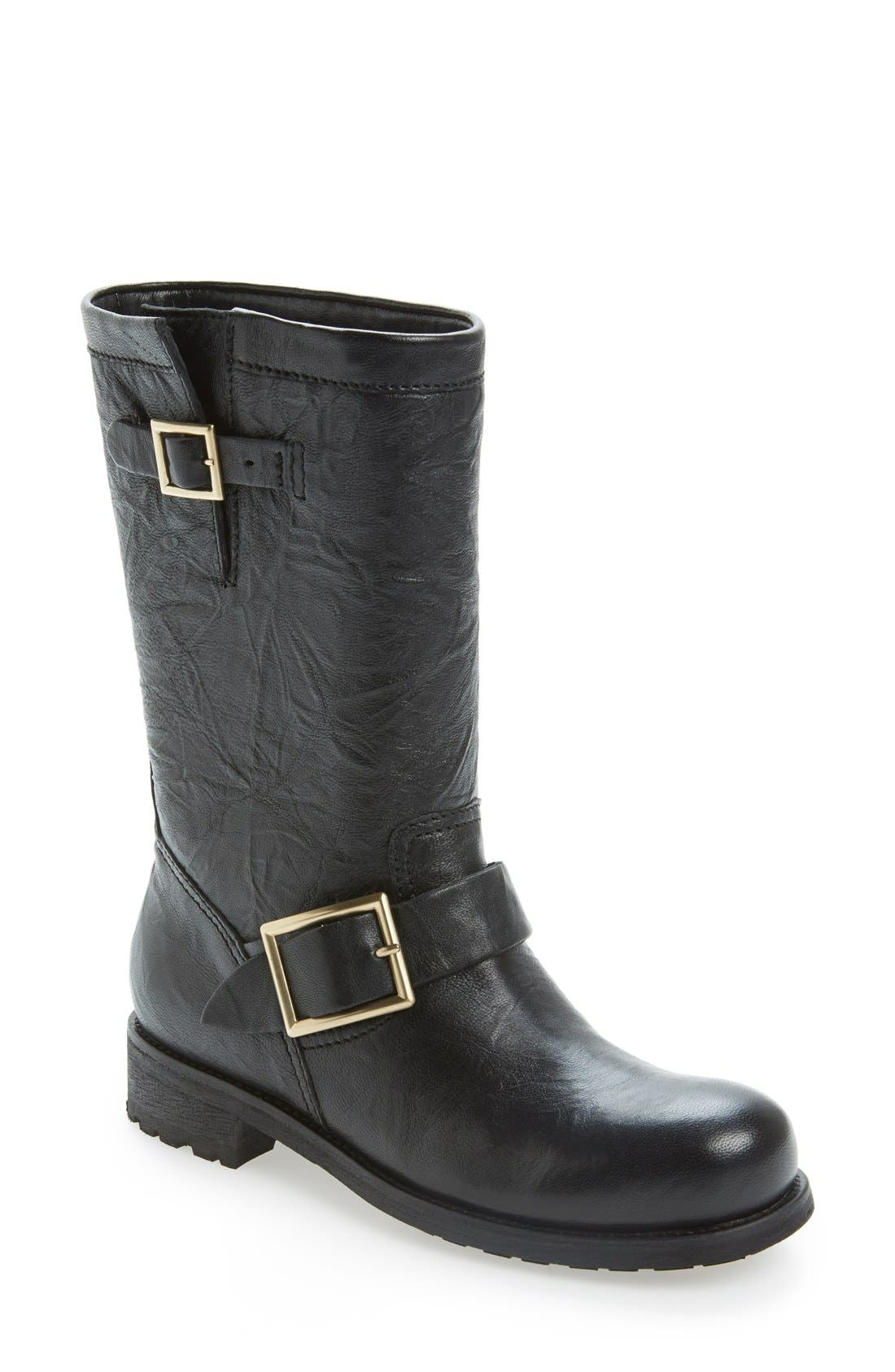 Main Image - Jimmy Choo Motorcycle Boot
