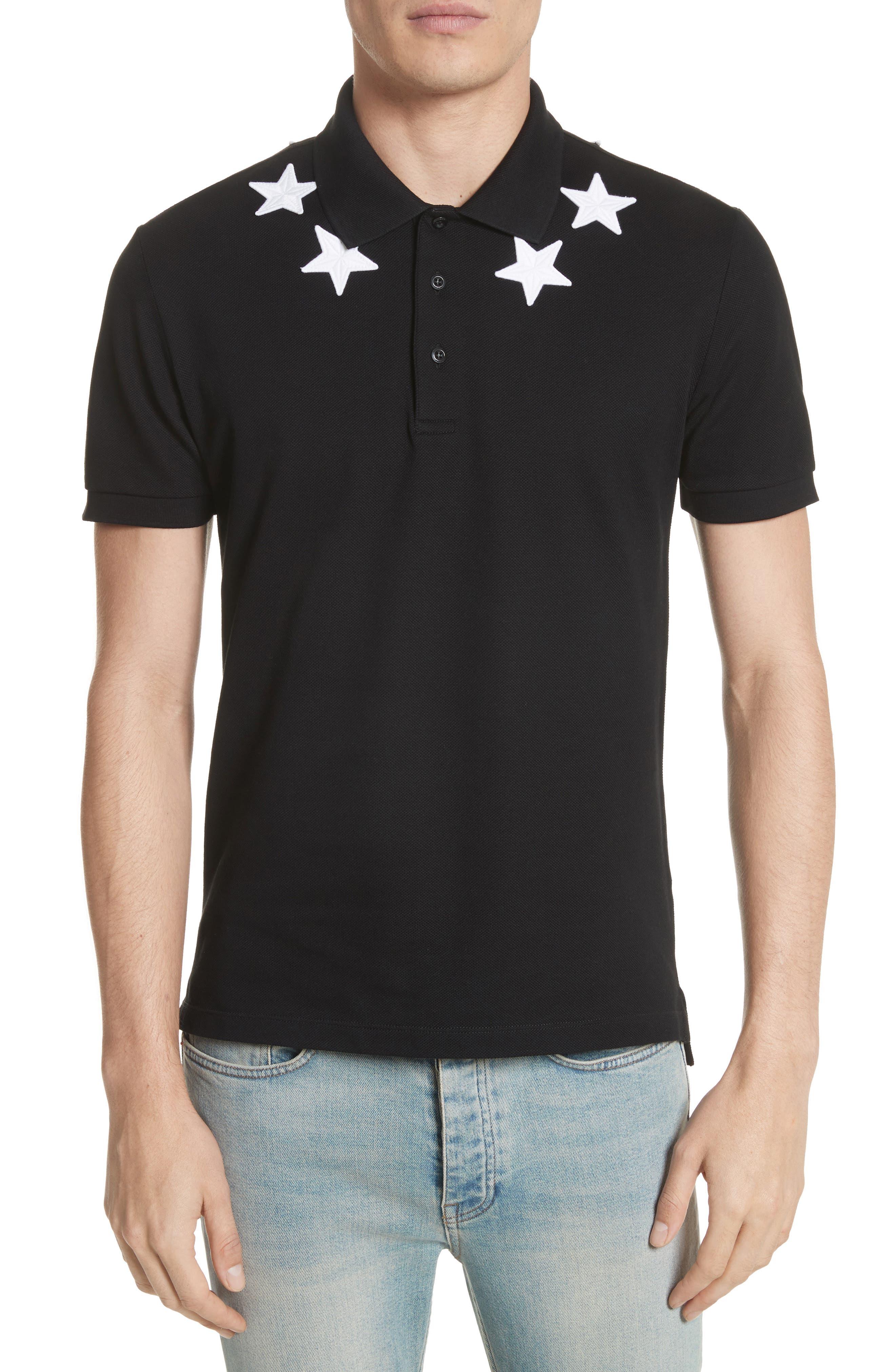Main Image - Givenchy Star Polo Shirt