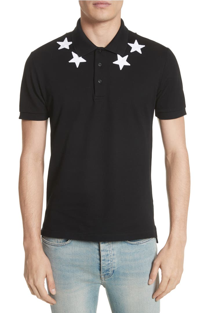 givenchy star polo shirt nordstrom