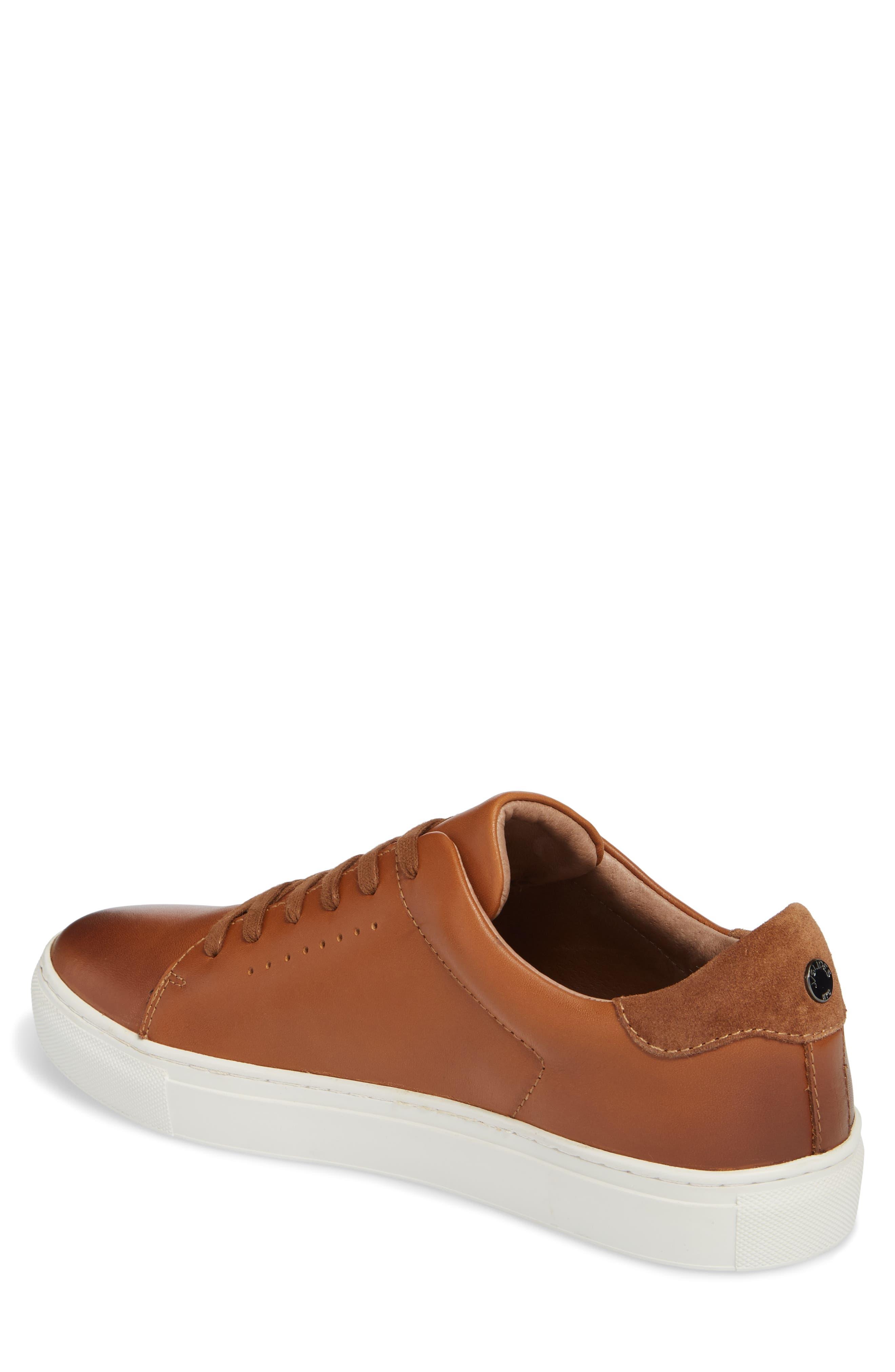 Desmond Sneaker,                             Alternate thumbnail 2, color,                             Tan Leather