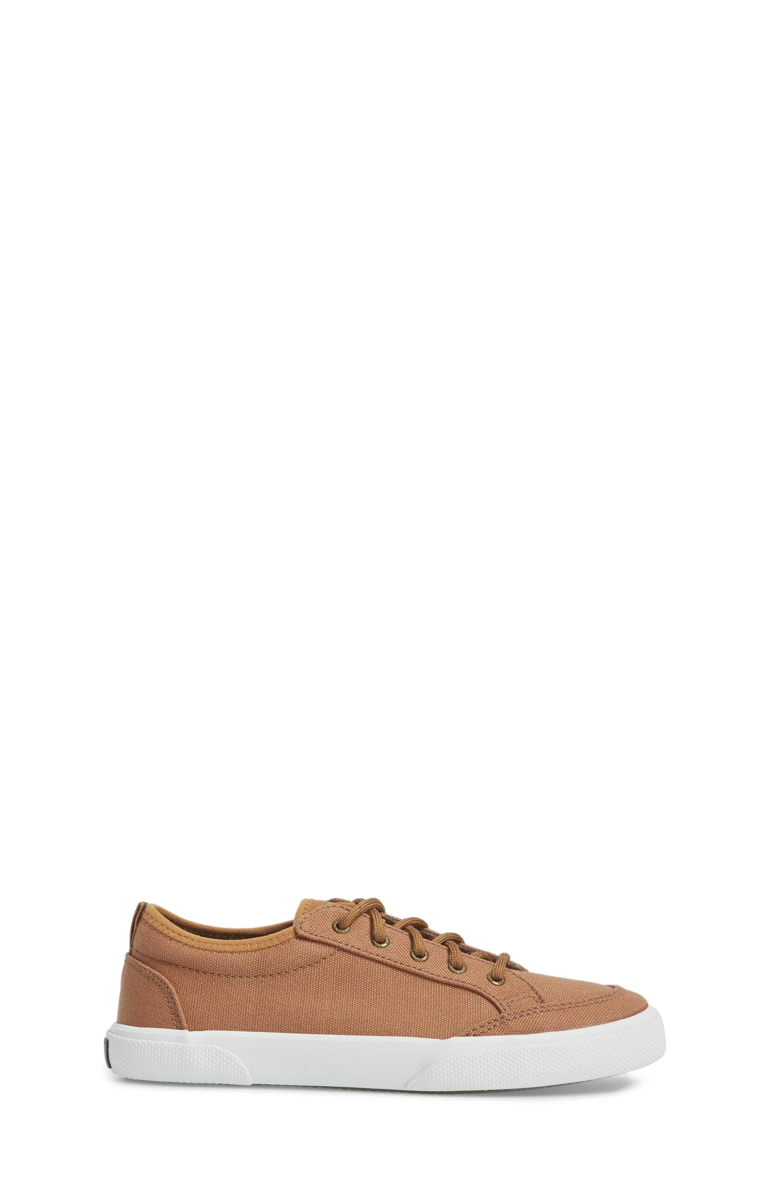 Sperry Deckfin Sneaker,                             Alternate thumbnail 3, color,                             Caramel