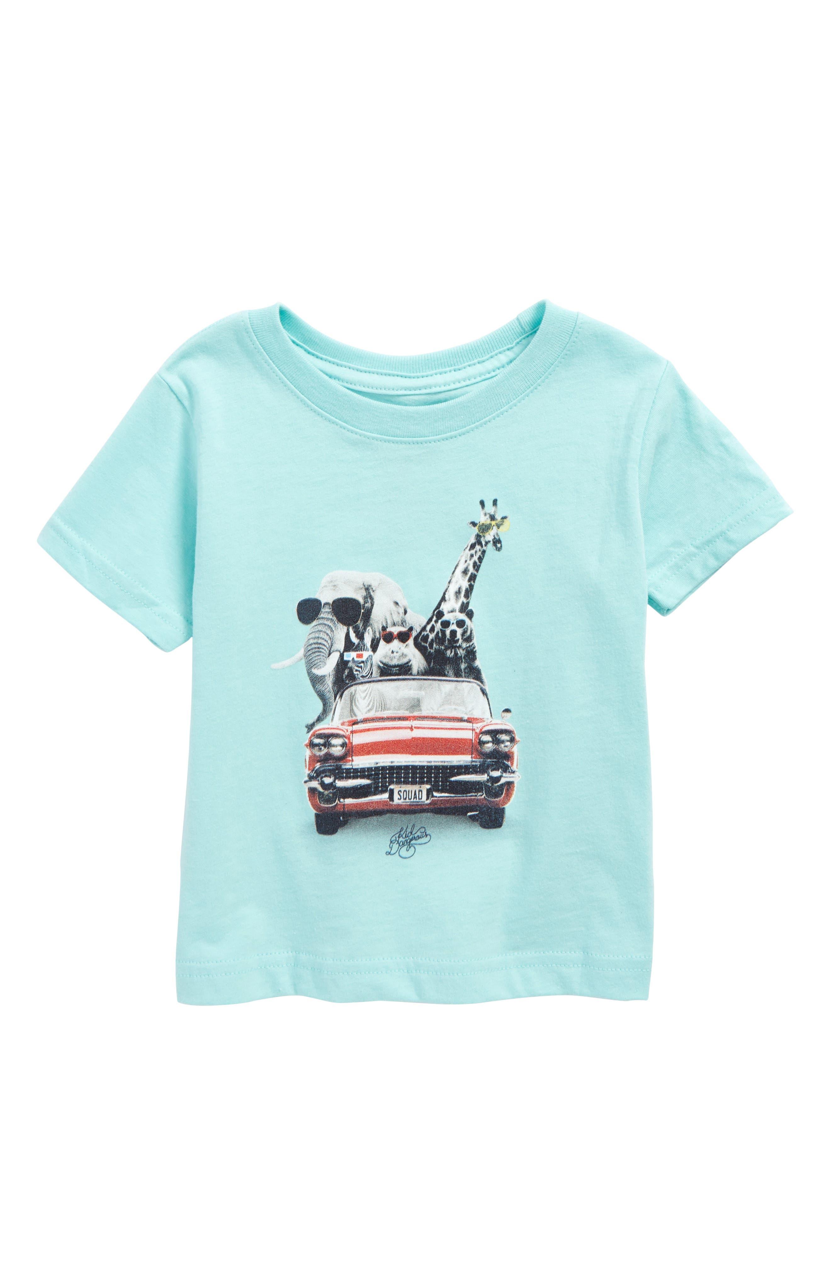 Kid Dangerous Zoo Mobile T-Shirt (Baby Boys)