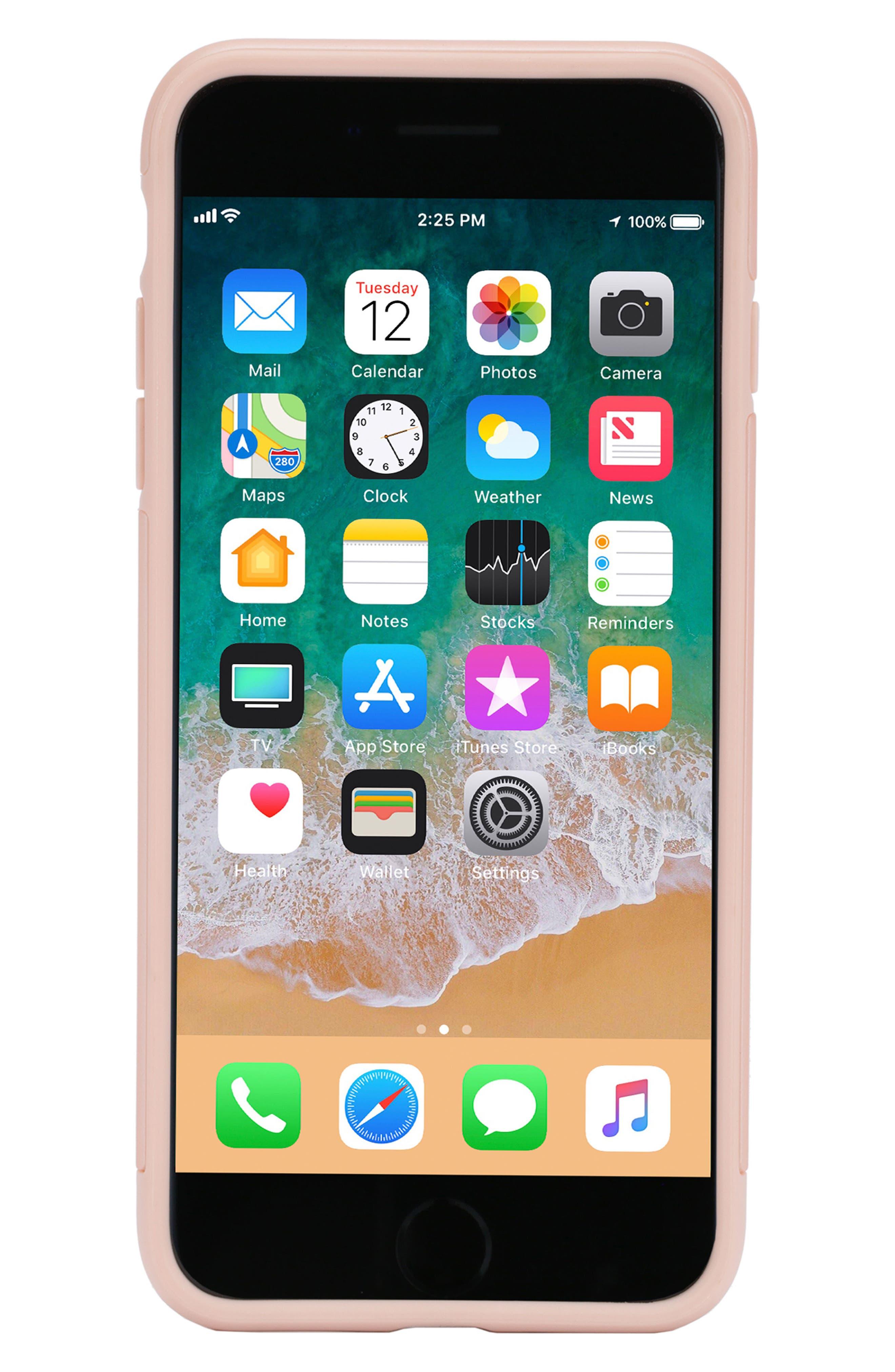 Dual Snap Case for iPhone 7 Plus/8 Plus,                             Main thumbnail 1, color,                             Rose Gold