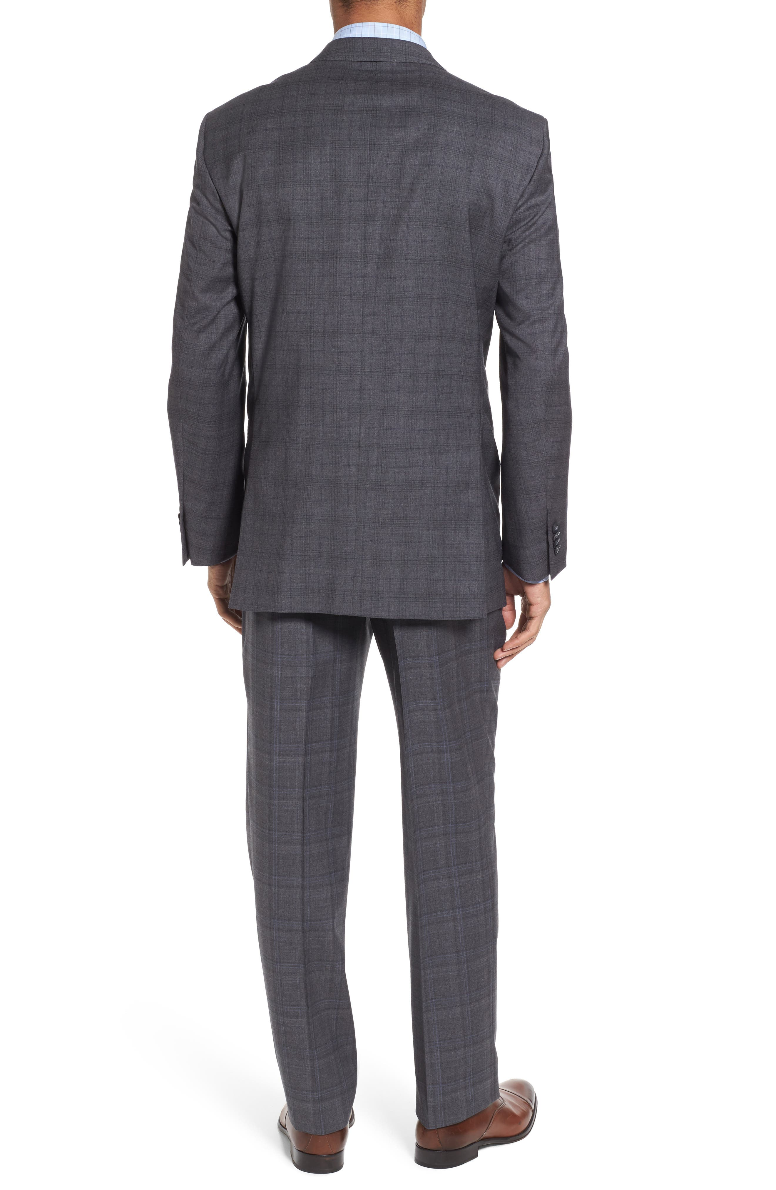Alternate Image 2  - Peter Millar Classic Fit Plaid Wool Suit