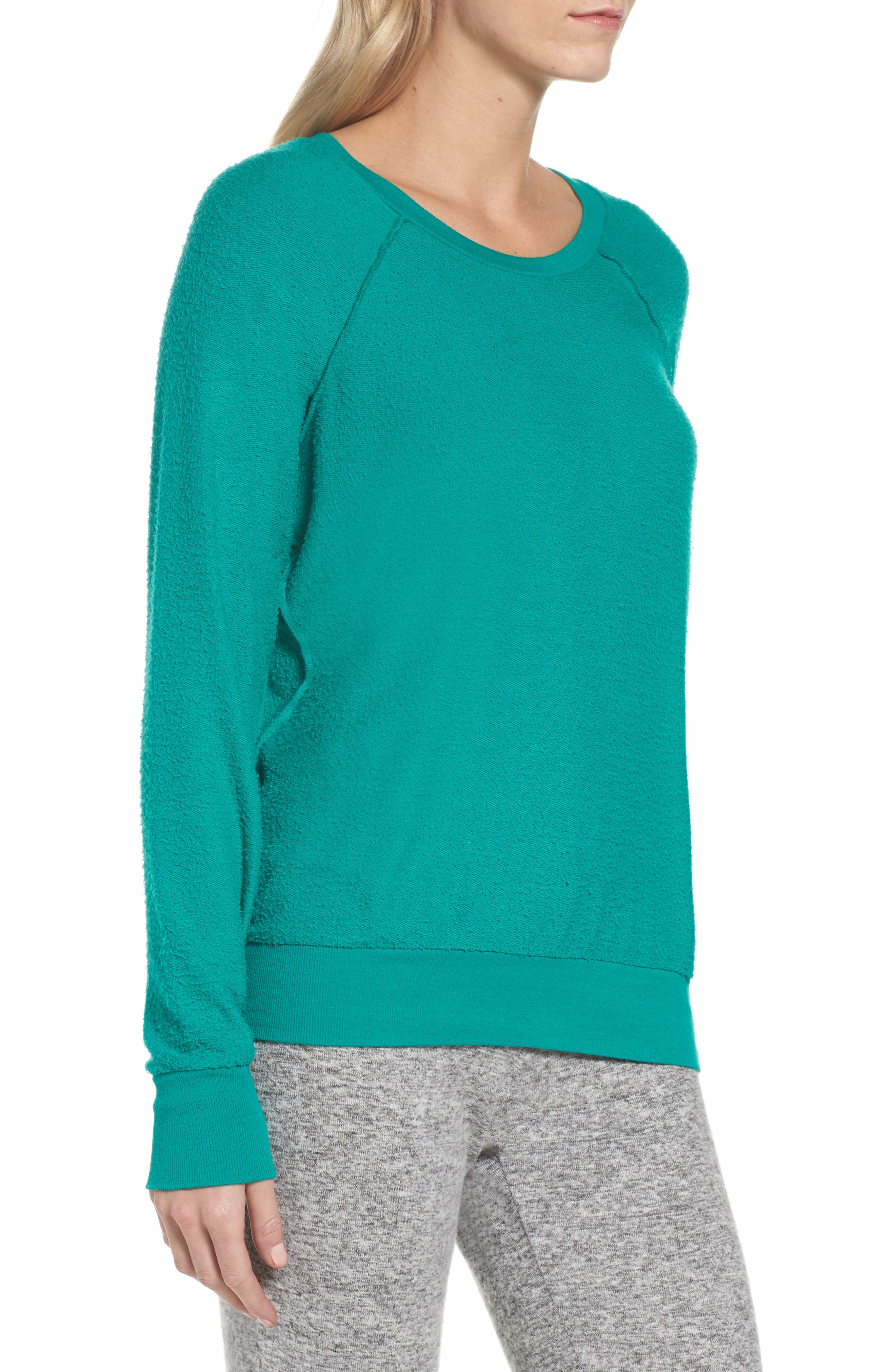 Edge Sweatshirt,                             Alternate thumbnail 3, color,                             Kelly