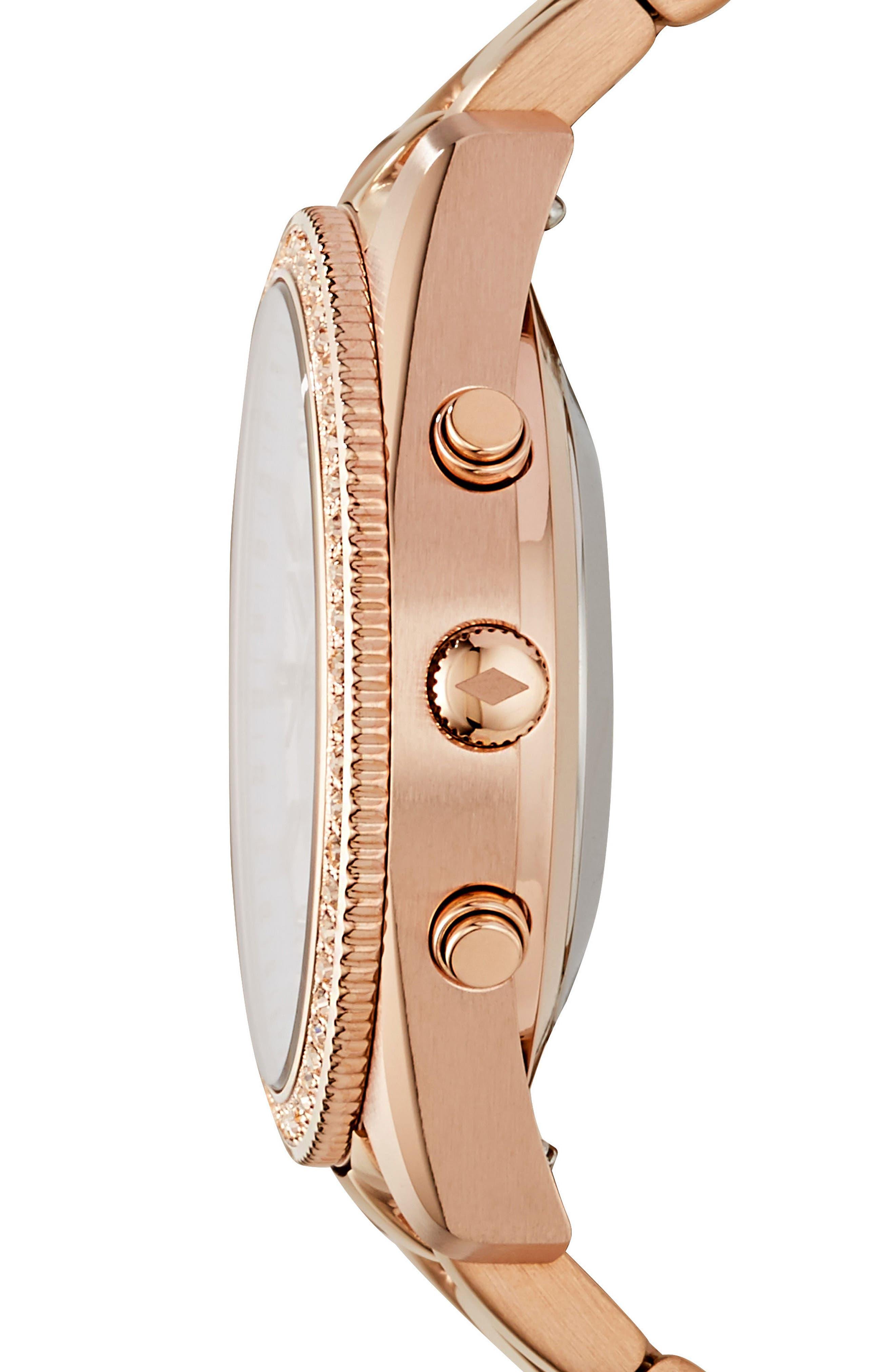 Scarlette Smart Bracelet Watch, 38mm,                             Alternate thumbnail 2, color,                             Rose Gold