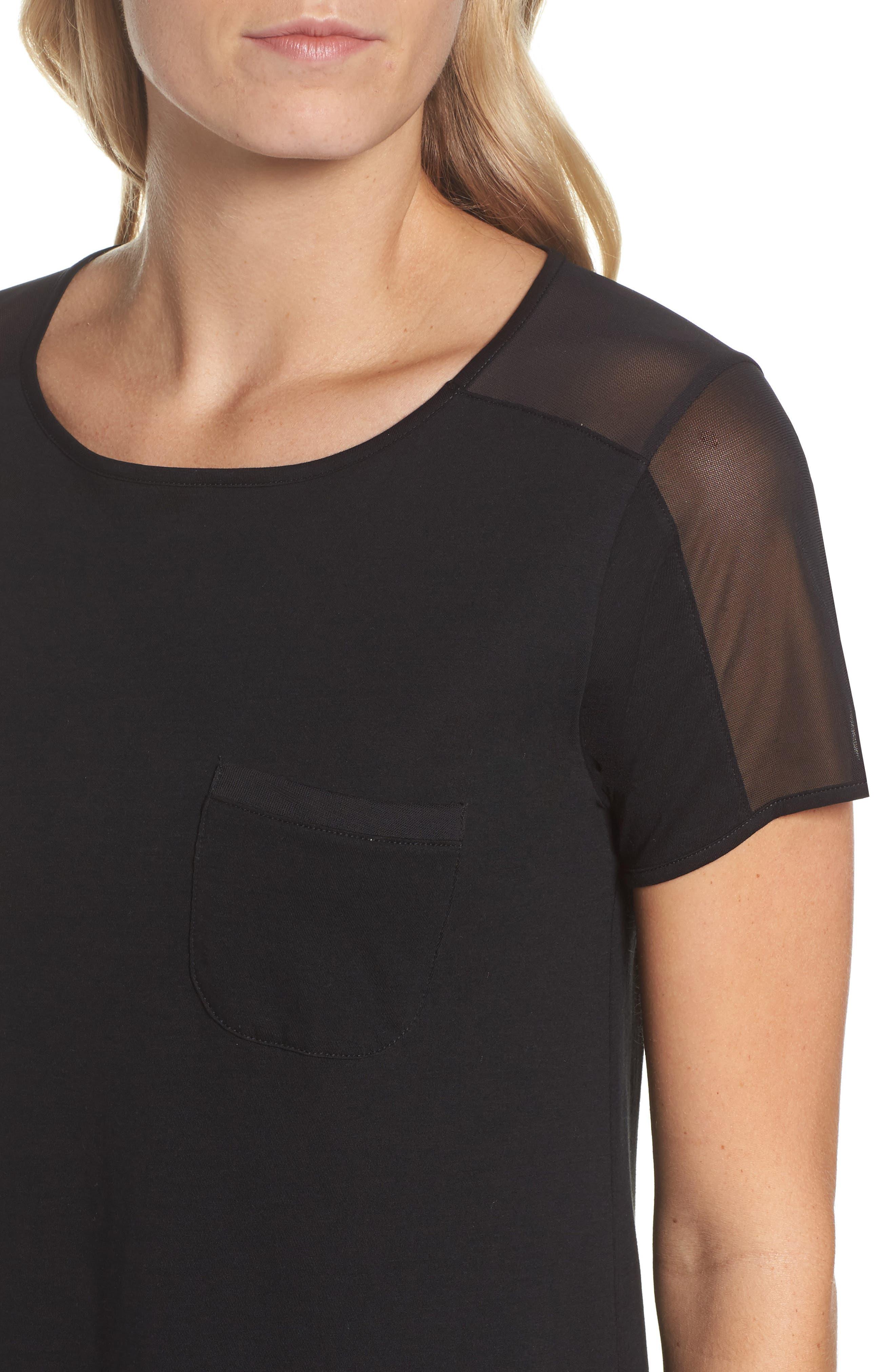 Alternate Image 4  - Naked Cotton Sleep Shirt