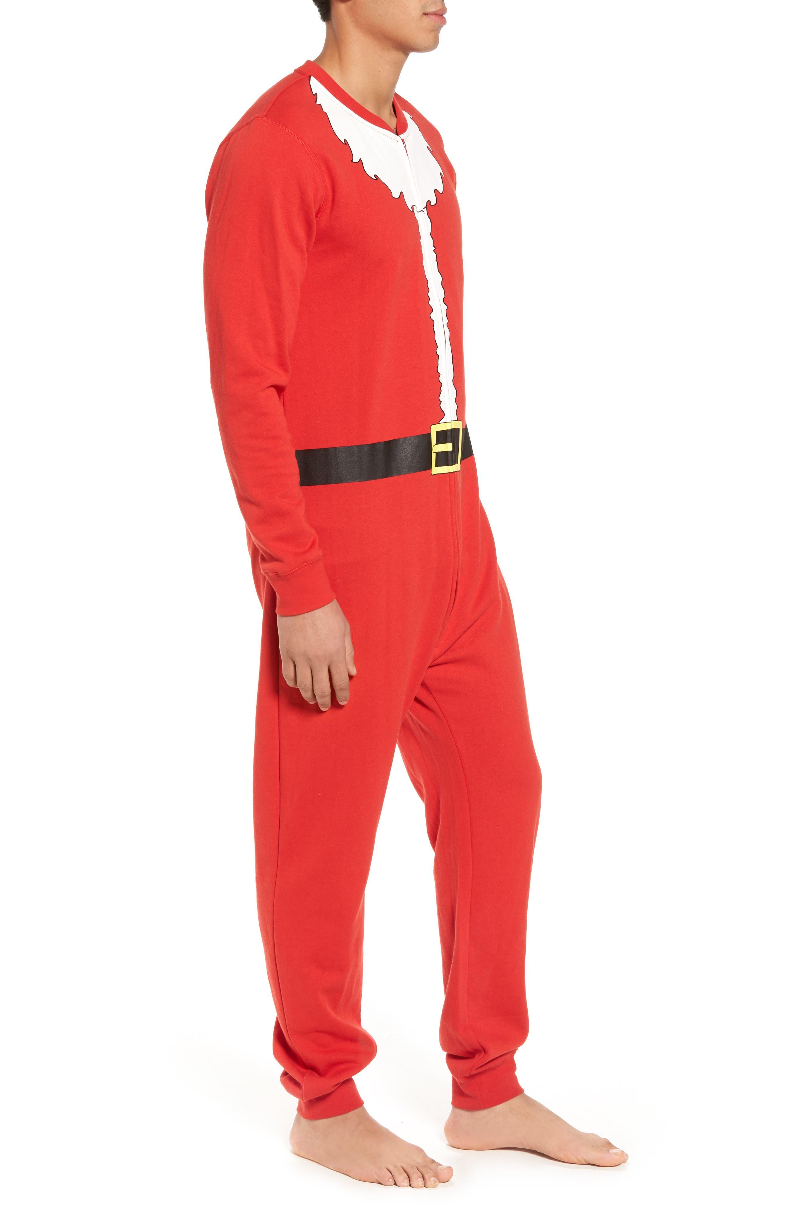 Alternate Image 3  - The Rail Fleece One-Piece Pajamas