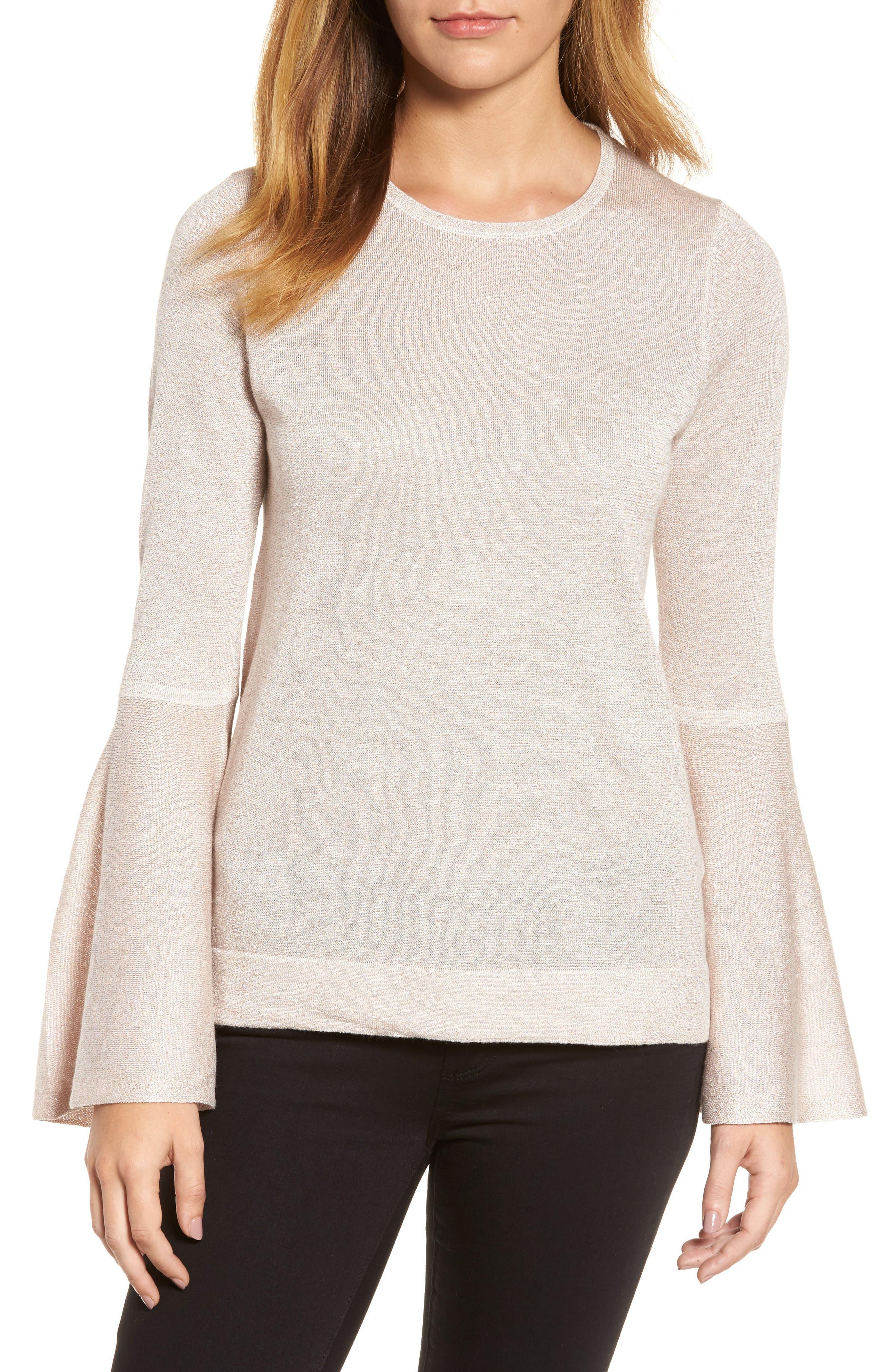 Vince Camuto Bell Sleeve Sweater (Regular & Petite)
