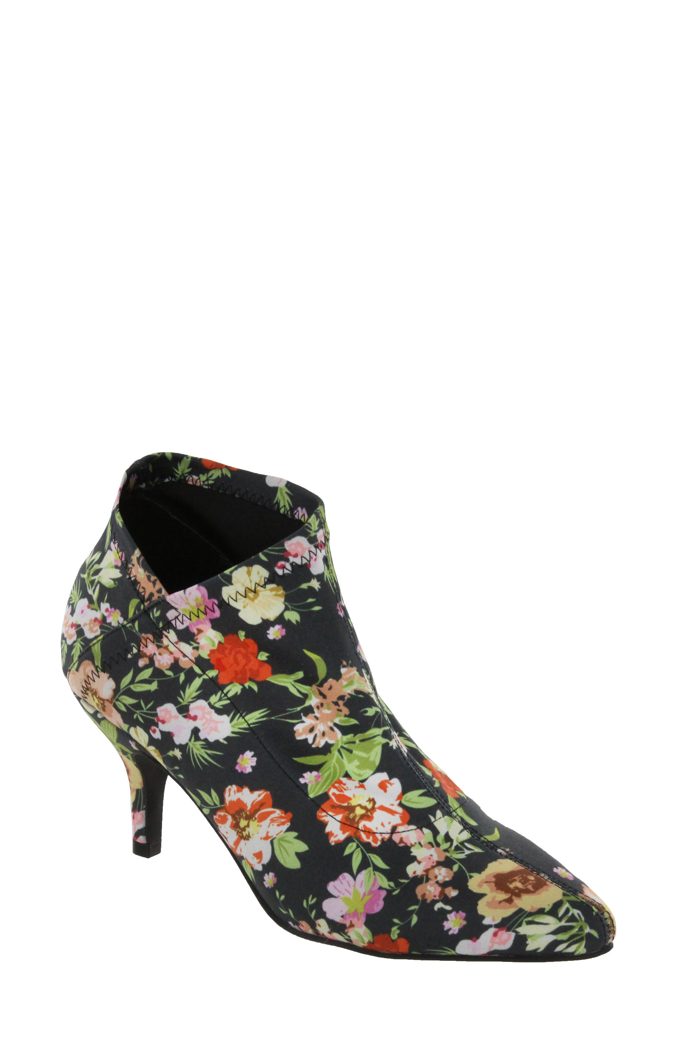 Charleese Bootie,                         Main,                         color, Floral