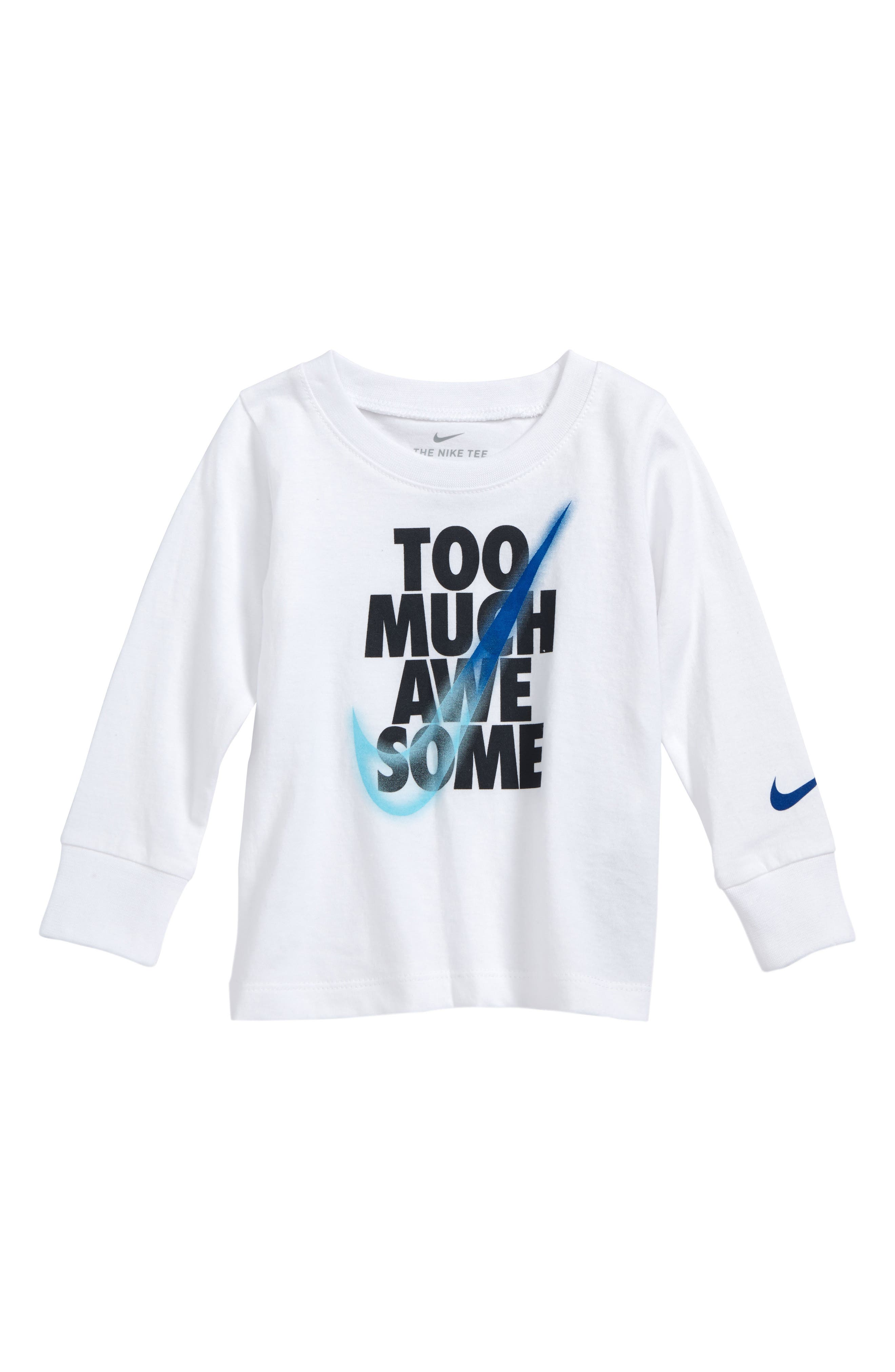 Nike Too Much Awesome T-Shirt (Baby Boys)