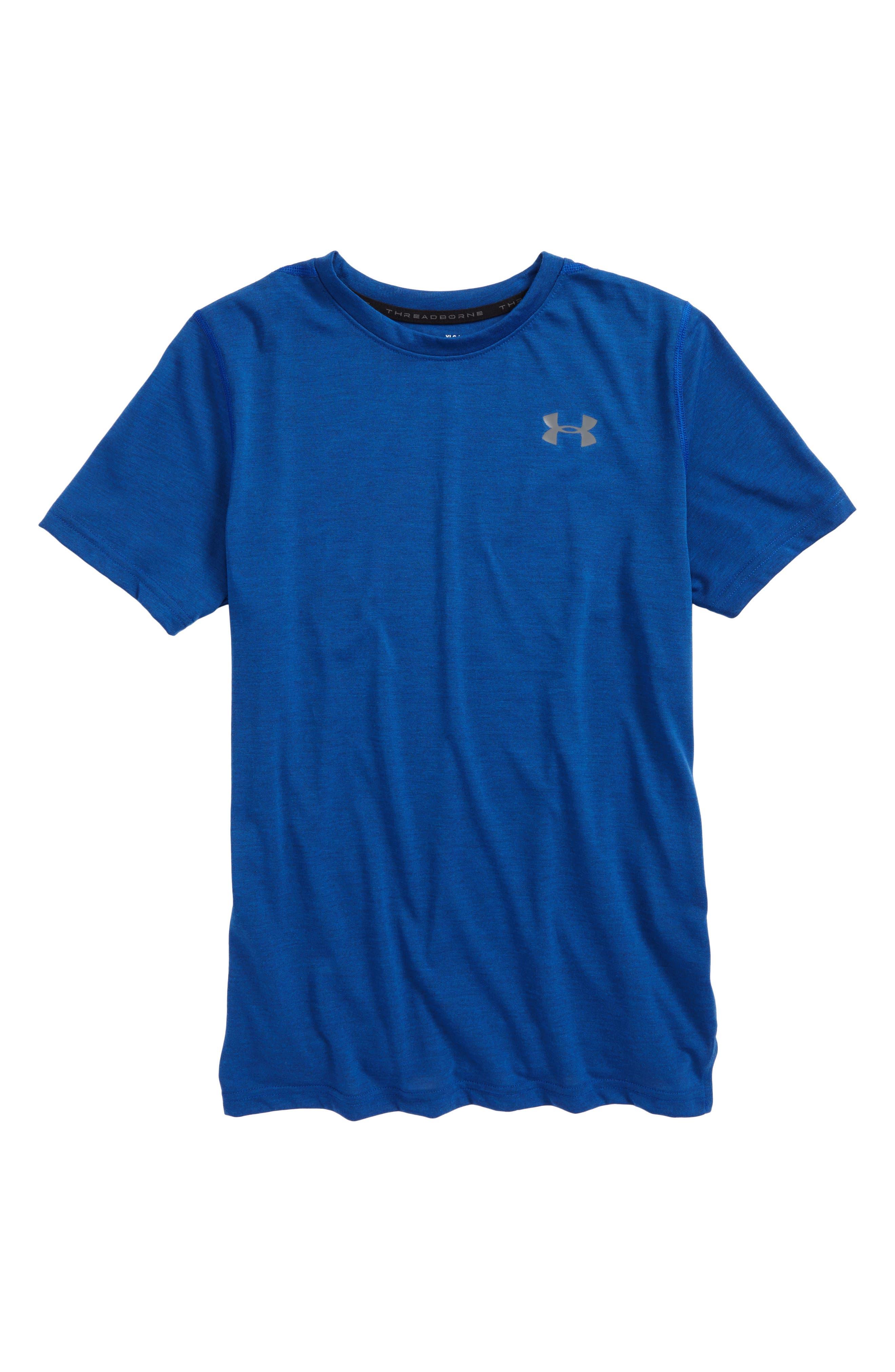 Under Armour Threadborne T-Shirt (Big Boys)