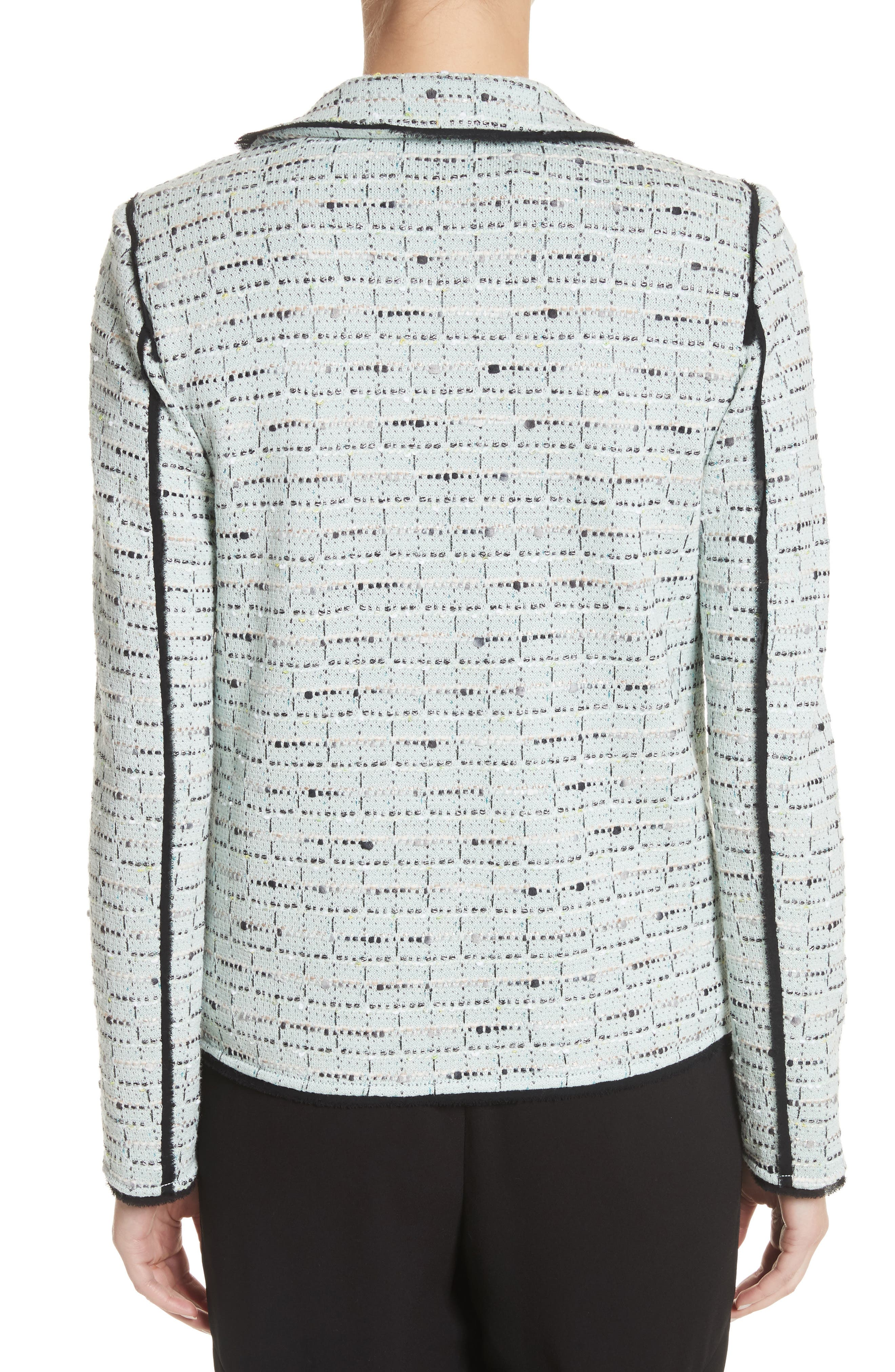 Alternate Image 2  - St. John Collection Adriana Tweed Double Breasted Blazer