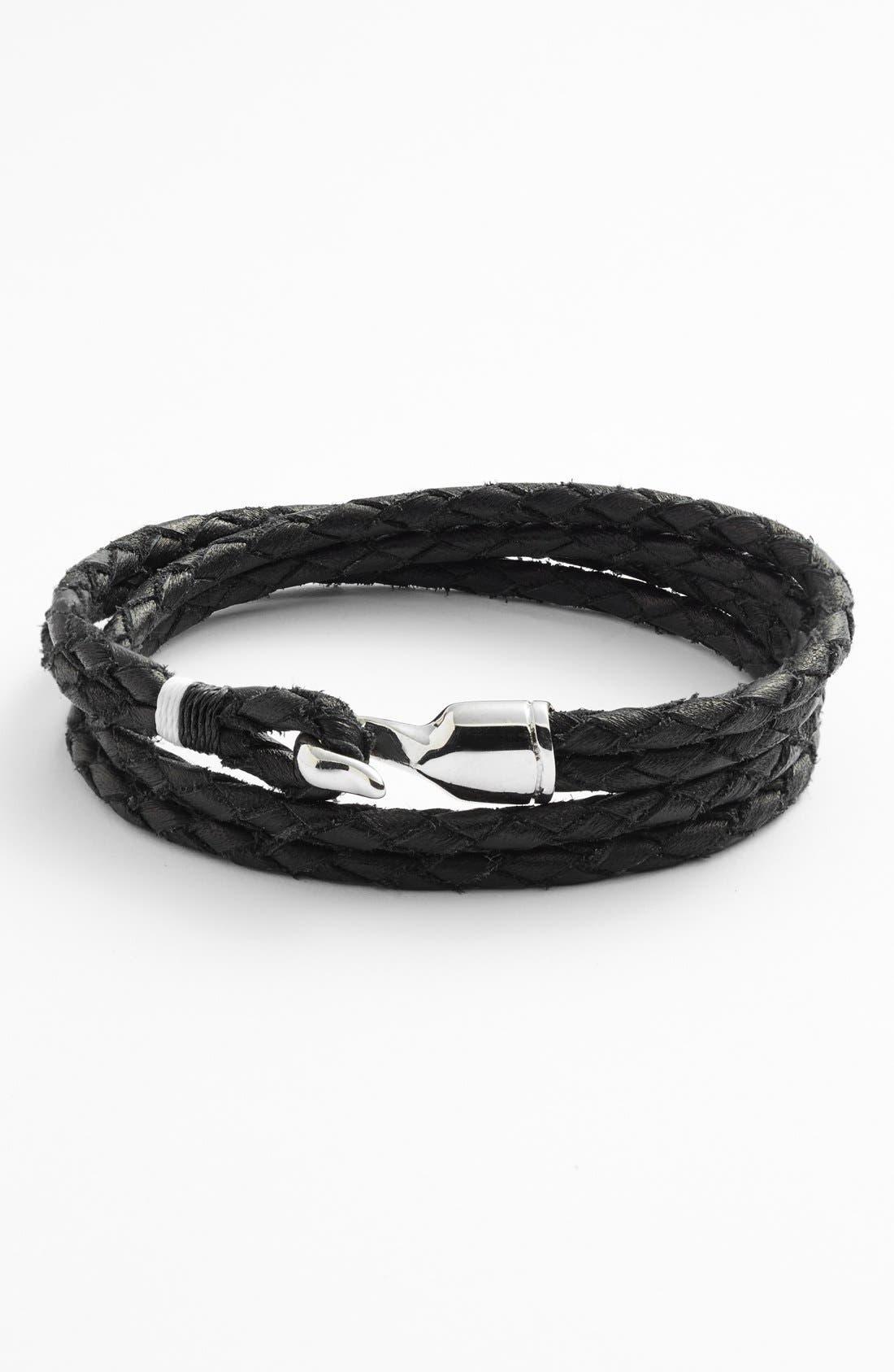 Miansai Mens Trice Double-Wrap Bracelet GkBVoYLheu