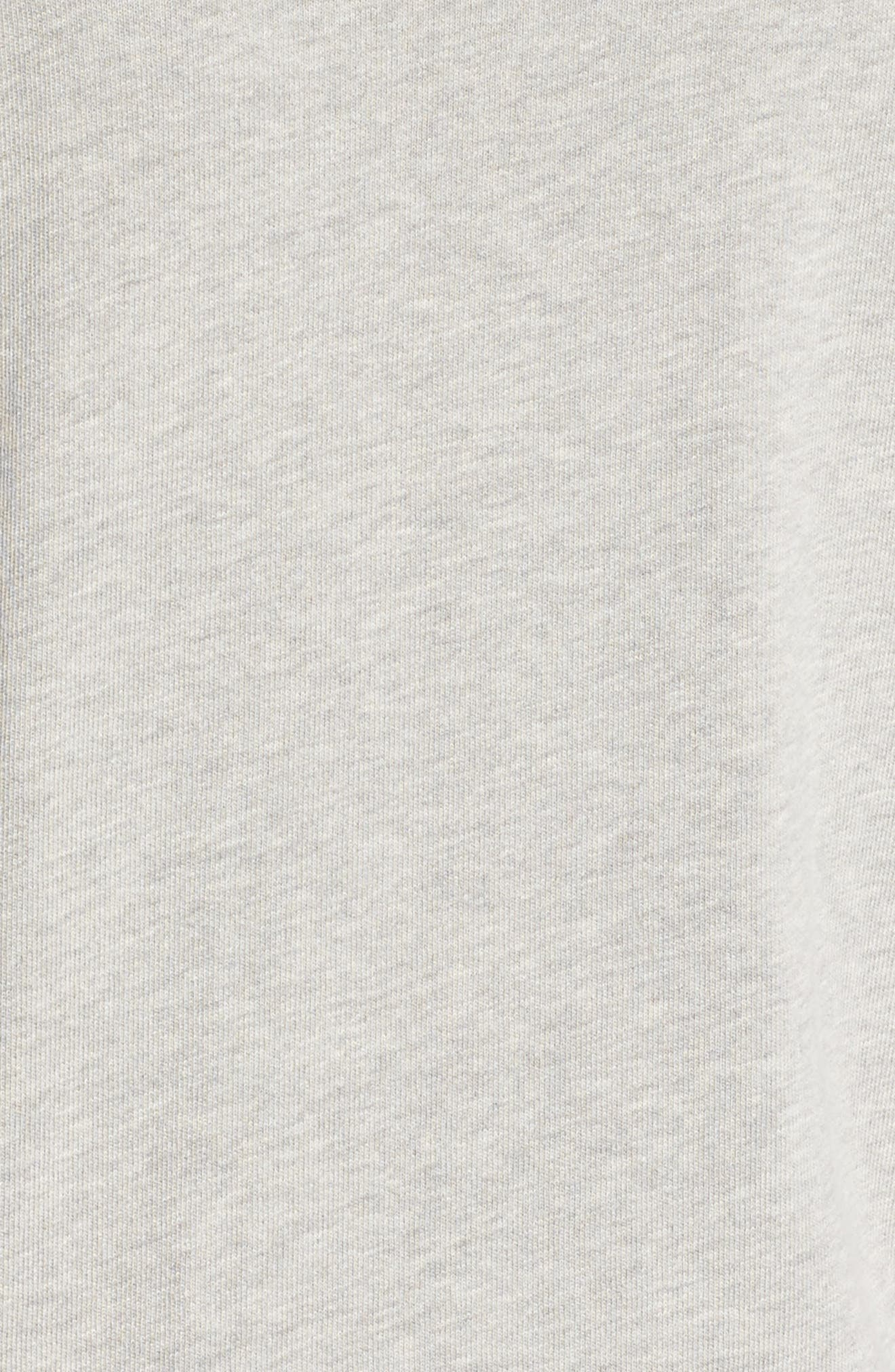 NFL Atlanta Falcons Hacci Sweatshirt,                             Alternate thumbnail 5, color,                             Dove Heather Grey