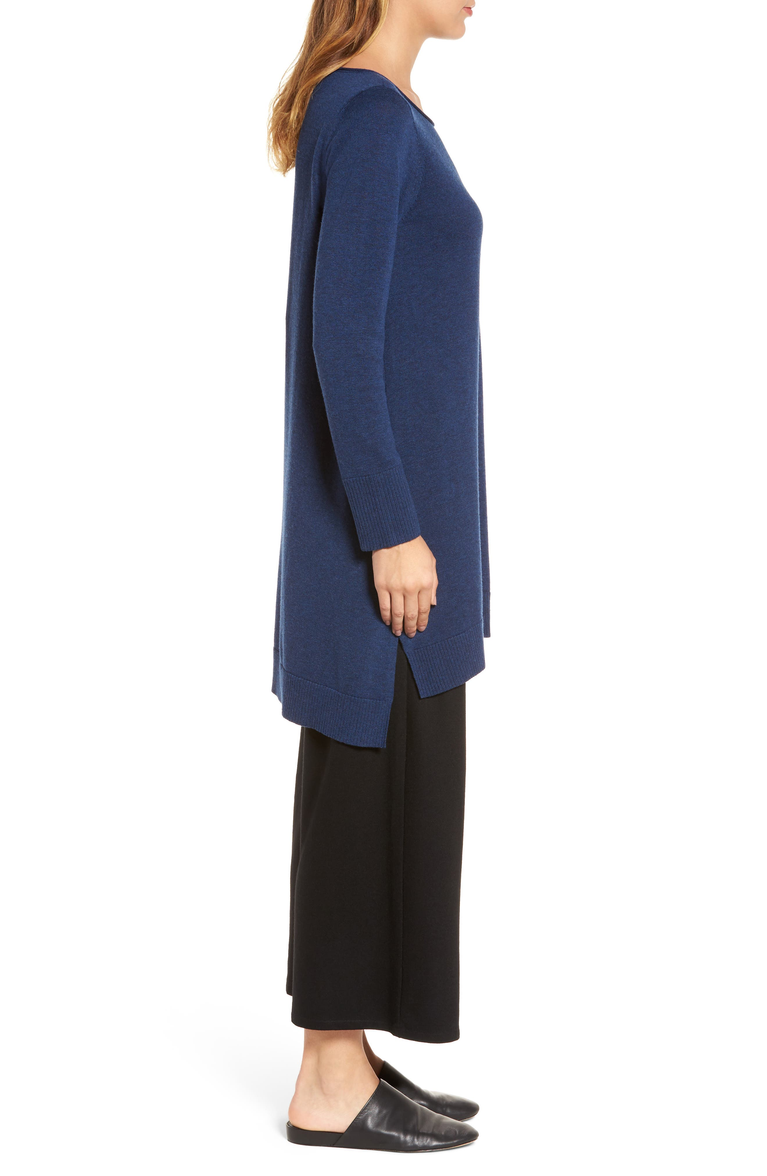 Layering Dress,                             Alternate thumbnail 3, color,                             Blue Bonnet