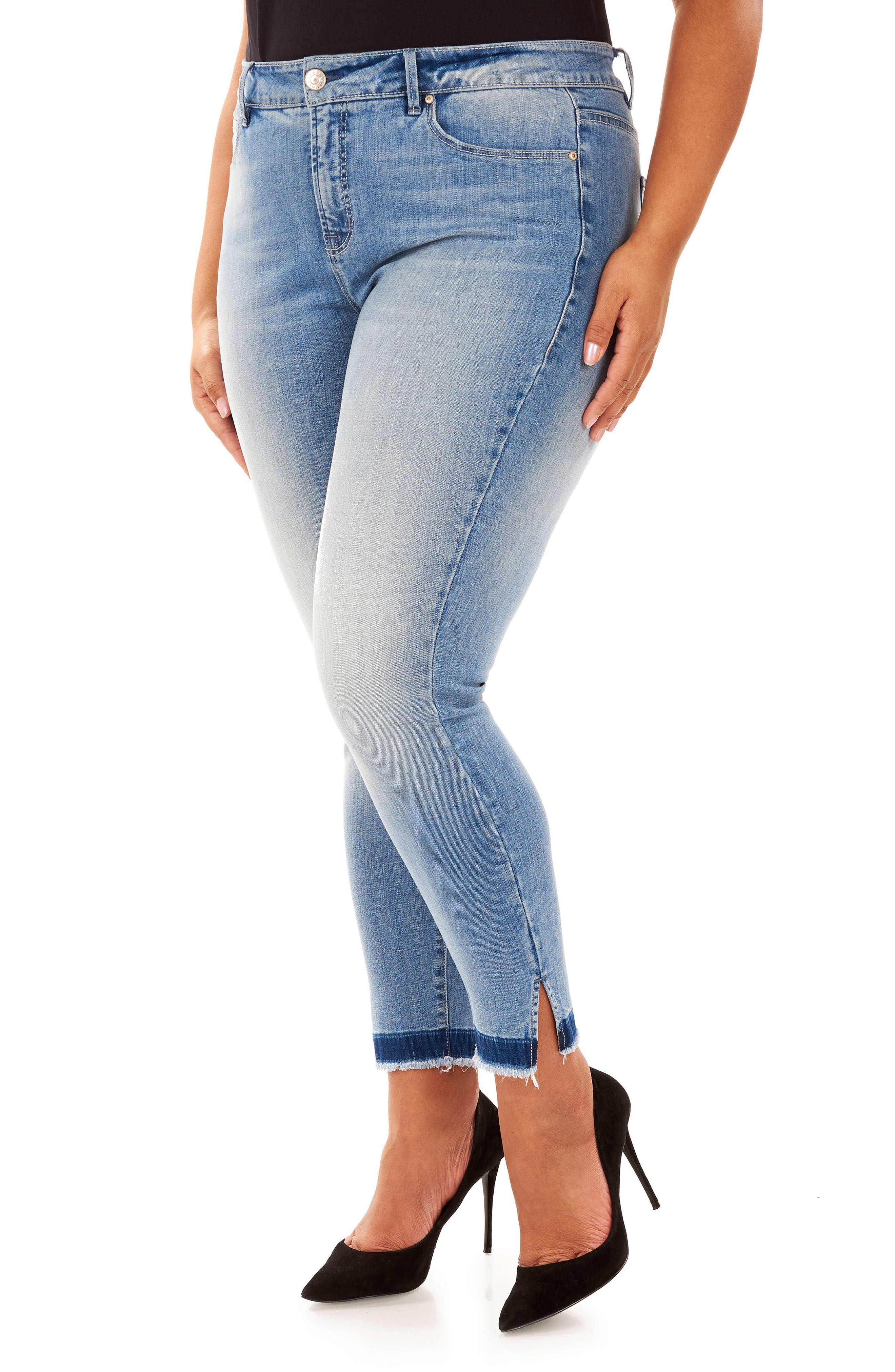 The Cruiser Ankle Skinny Jeans,                             Alternate thumbnail 4, color,                             Arcadia
