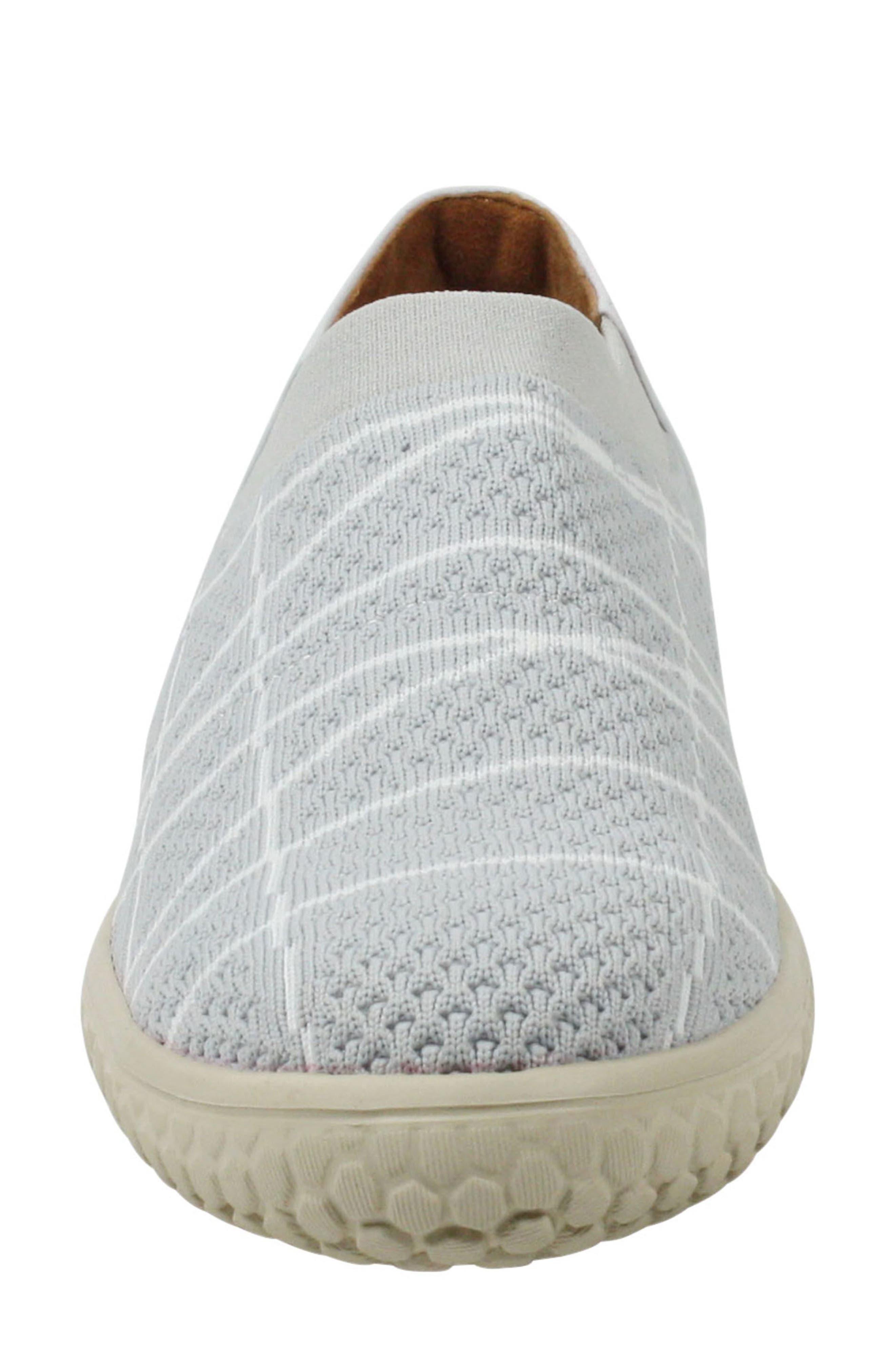 Zohndra Slip-On Sneaker,                             Alternate thumbnail 5, color,                             Beige Fabric