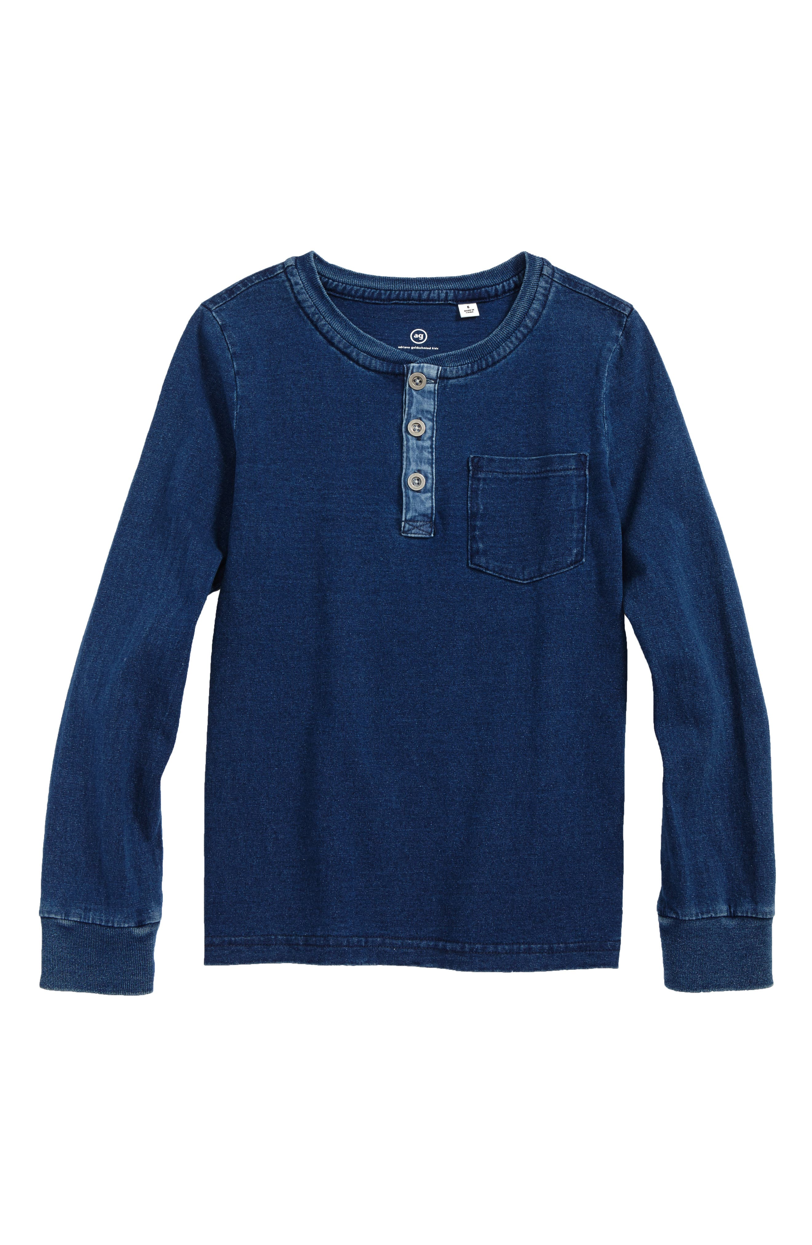 AG Henley T-Shirt (Little Boys & Big Boys)