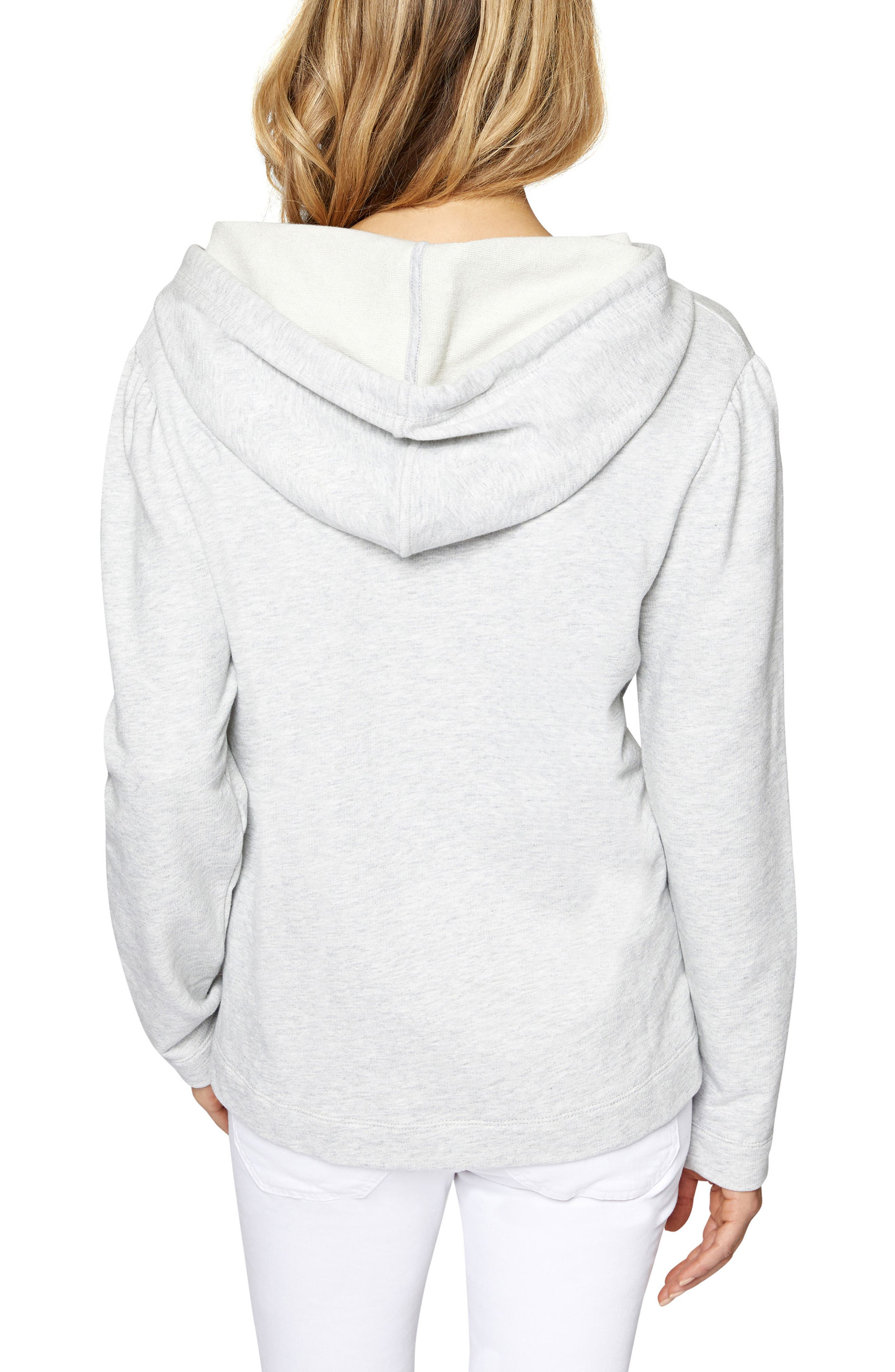 Crane Hooded Sweatshirt,                             Alternate thumbnail 2, color,                             Heather Sterling