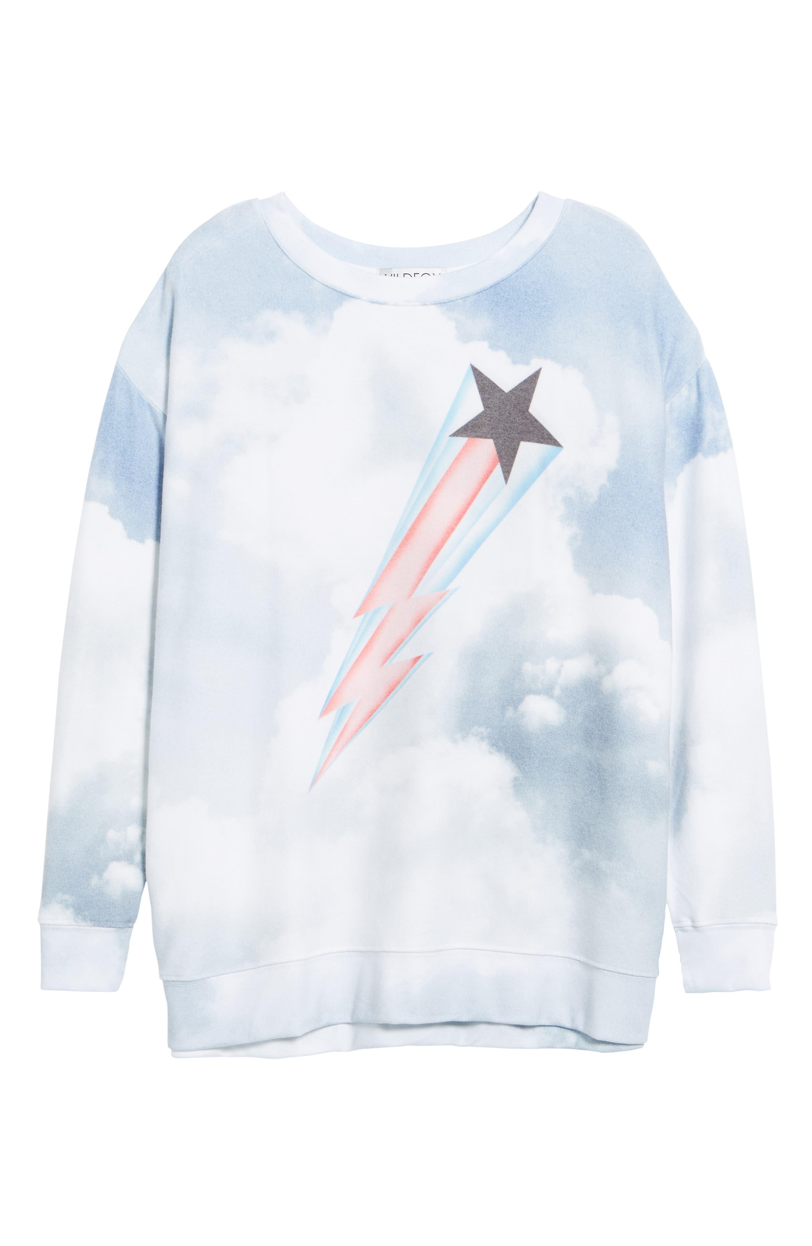 Heavens Roadtrip Sweatshirt,                             Alternate thumbnail 6, color,                             Multi