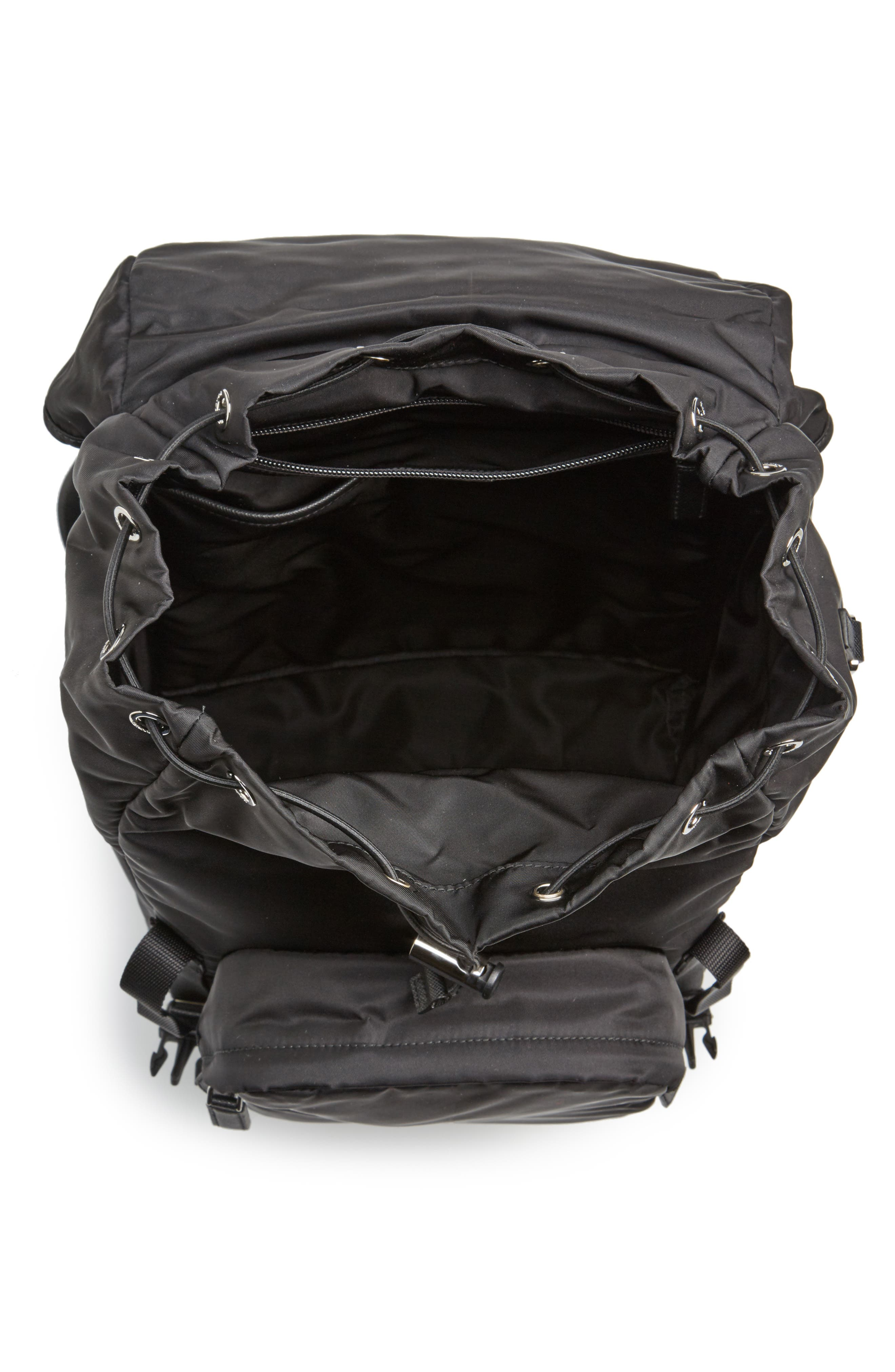 Alternate Image 4  - Prada Montagna Flap Backpack