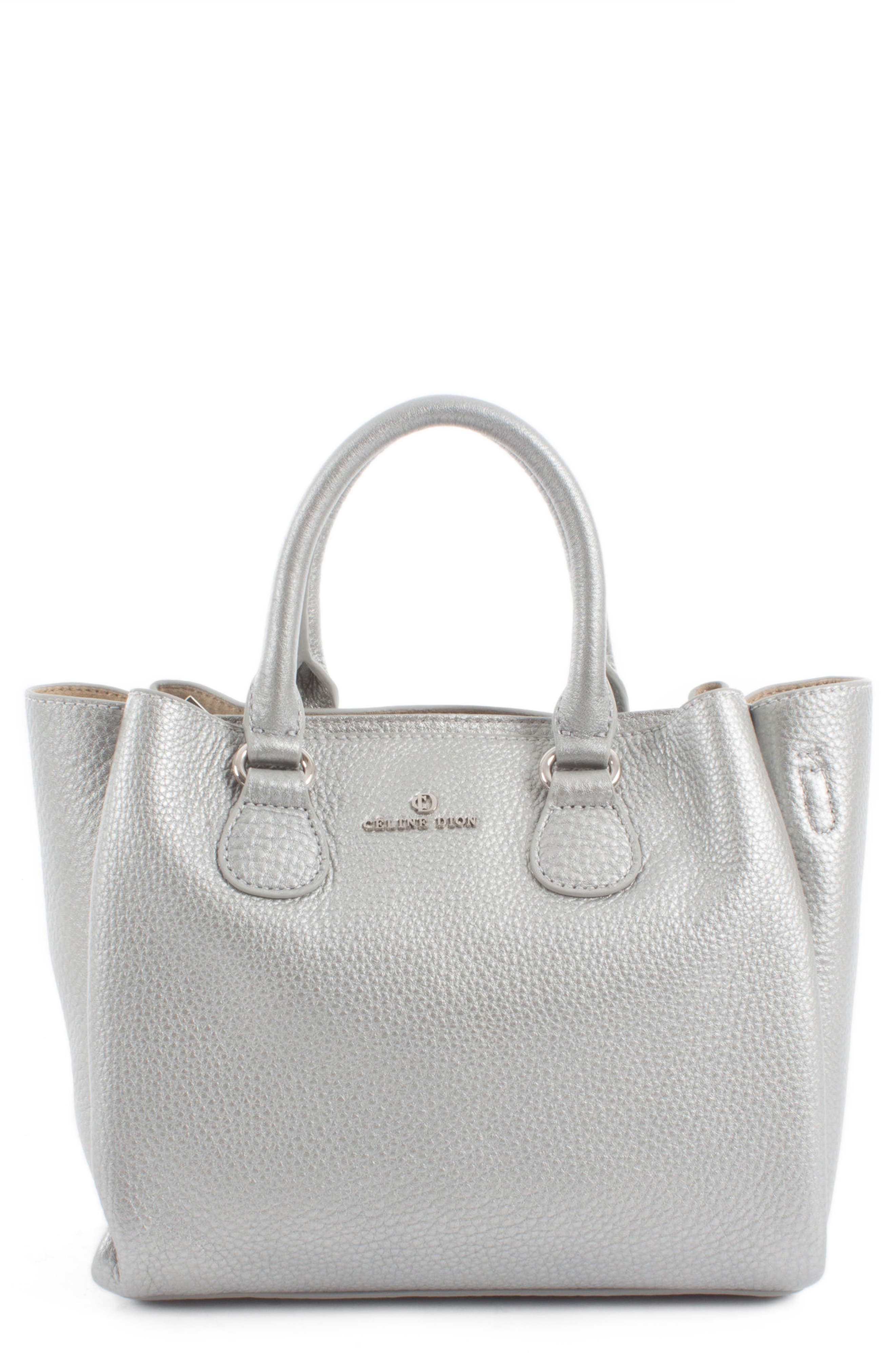Alternate Image 1 Selected - Céline Dion Small Adagio Leather Satchel