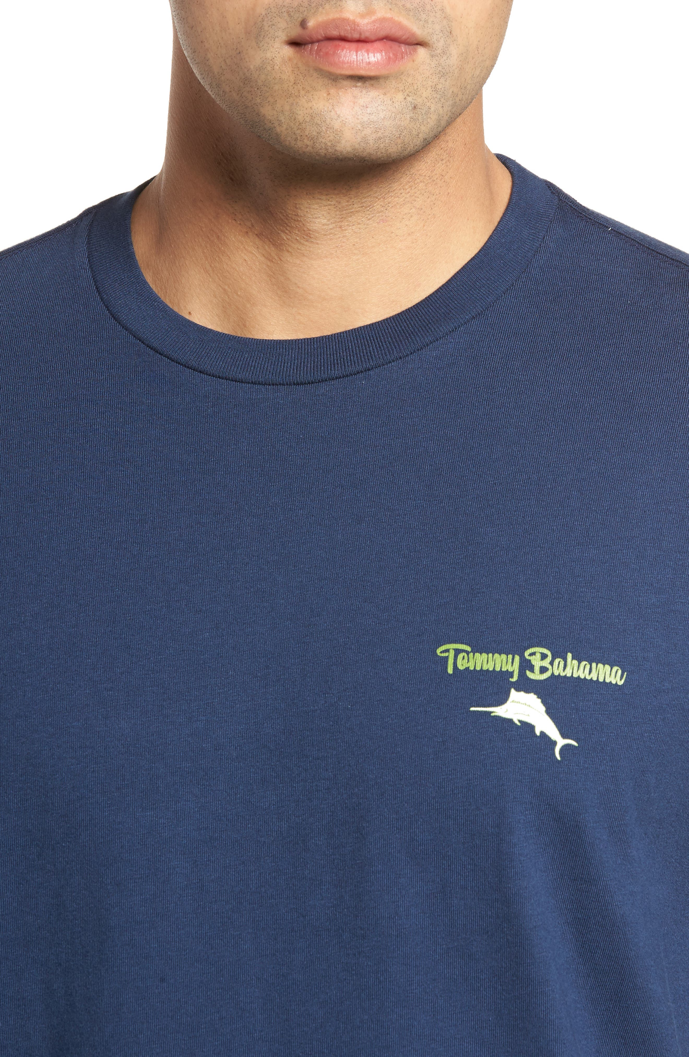 Fore of a Kind Graphic T-Shirt,                             Alternate thumbnail 4, color,                             Navy
