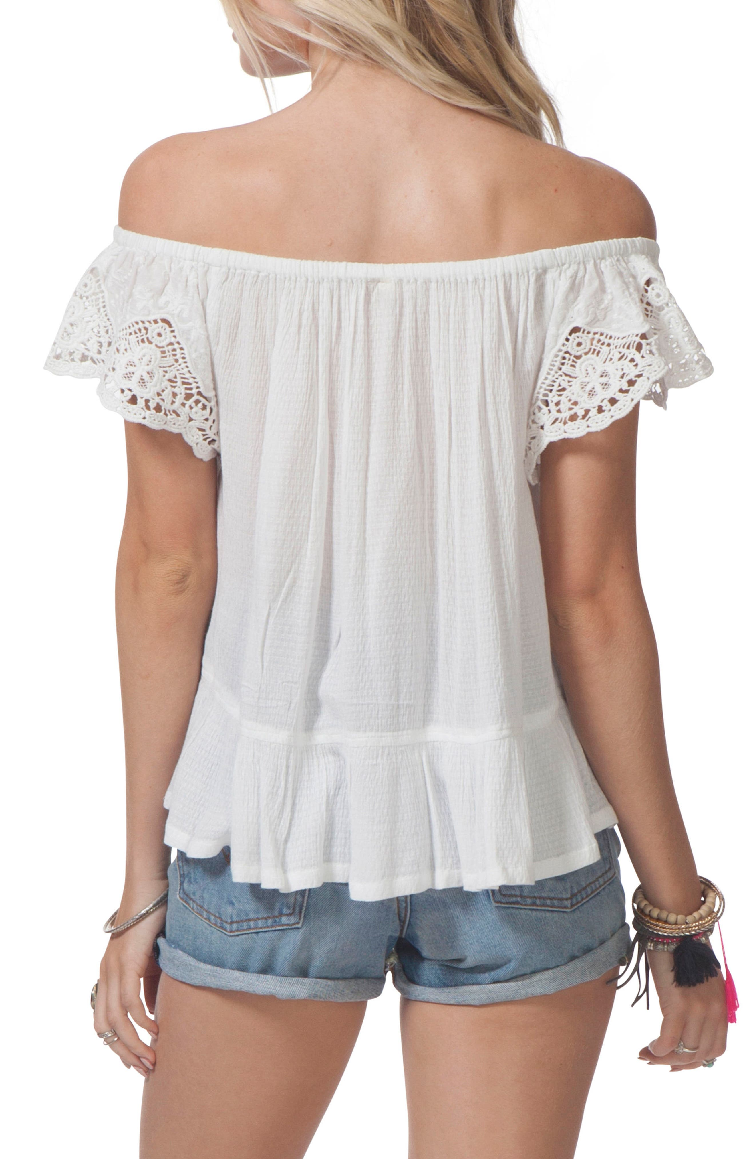 Alternate Image 2  - Rip Curl Cascade Off the Shoulder Top