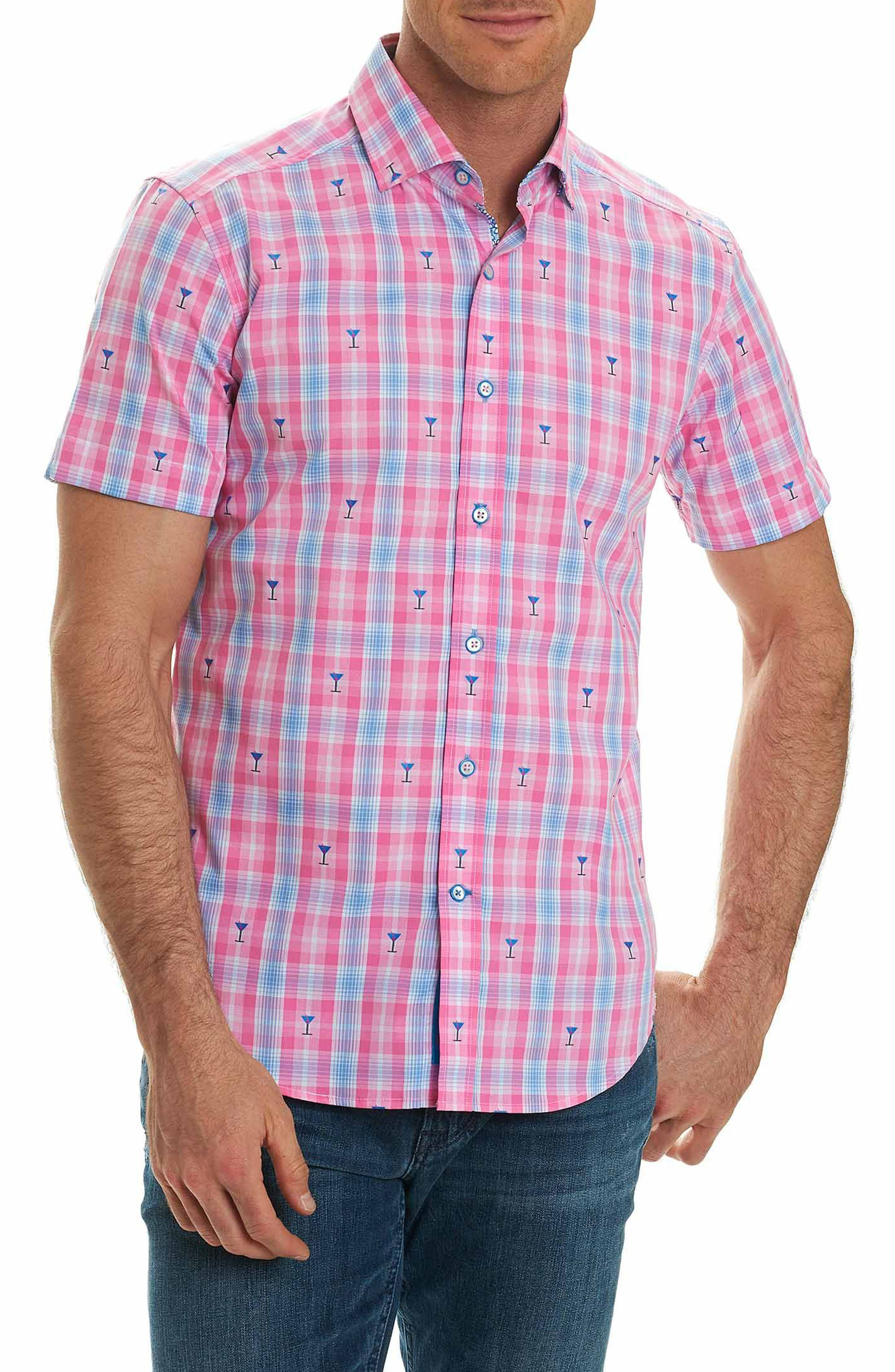 Alternate Image 1 Selected - Robert Graham Chancellor Martini Plaid Sport Shirt