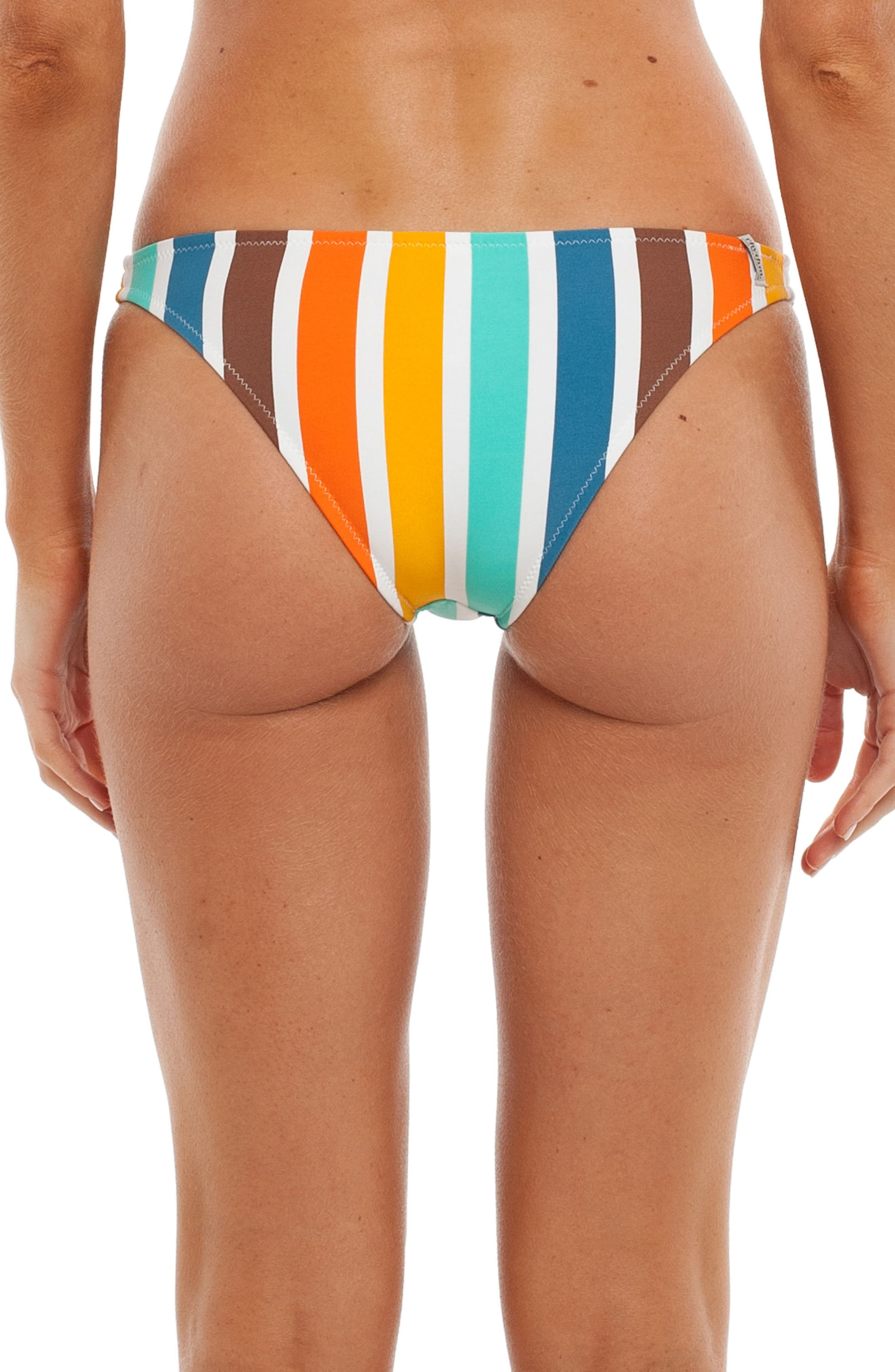 Alternate Image 1 Selected - Rhythm Zimbabwe Cheeky Bikini Bottoms