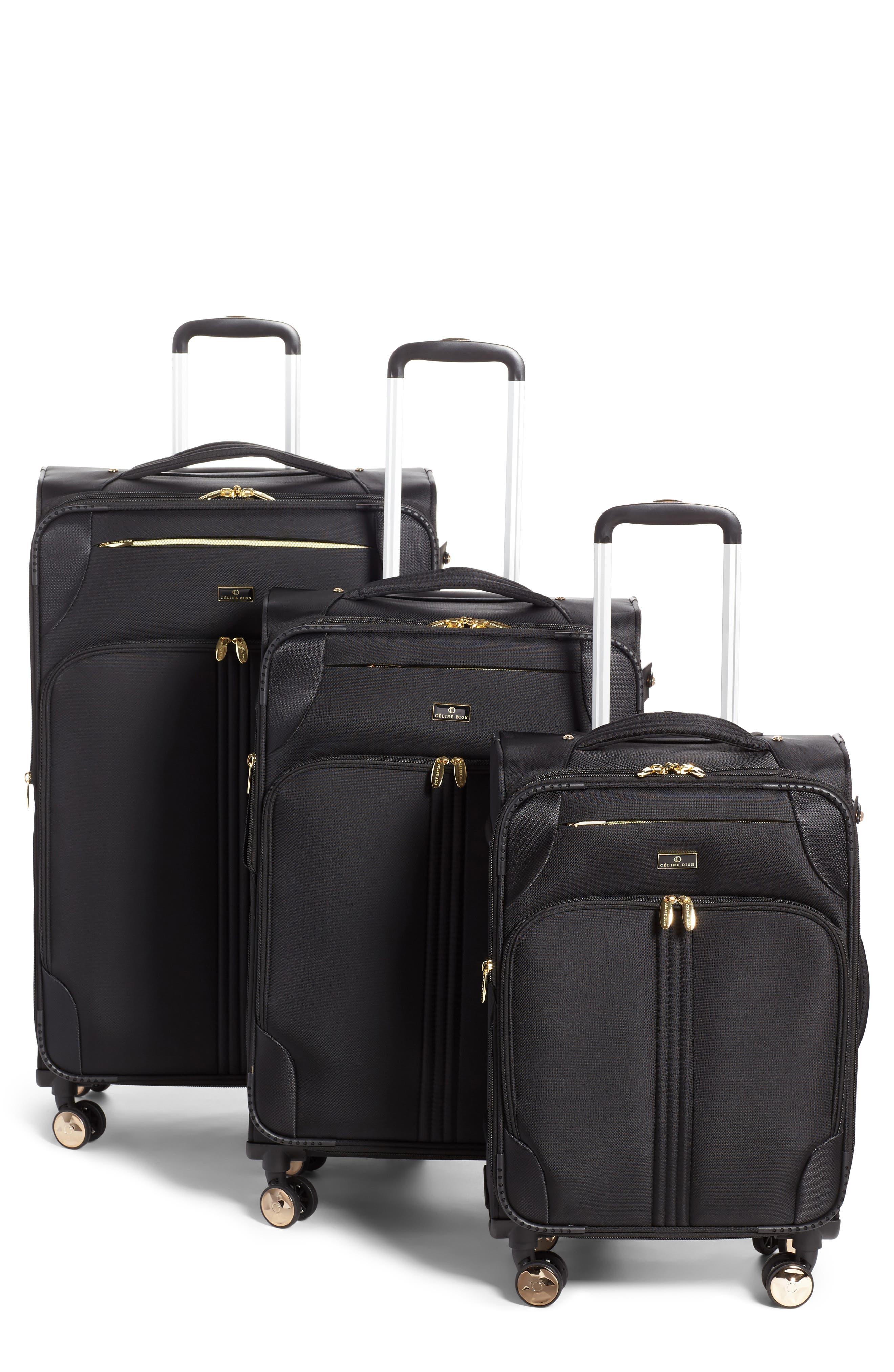 Céline Dion Trio 3-Piece Rolling Luggage Set
