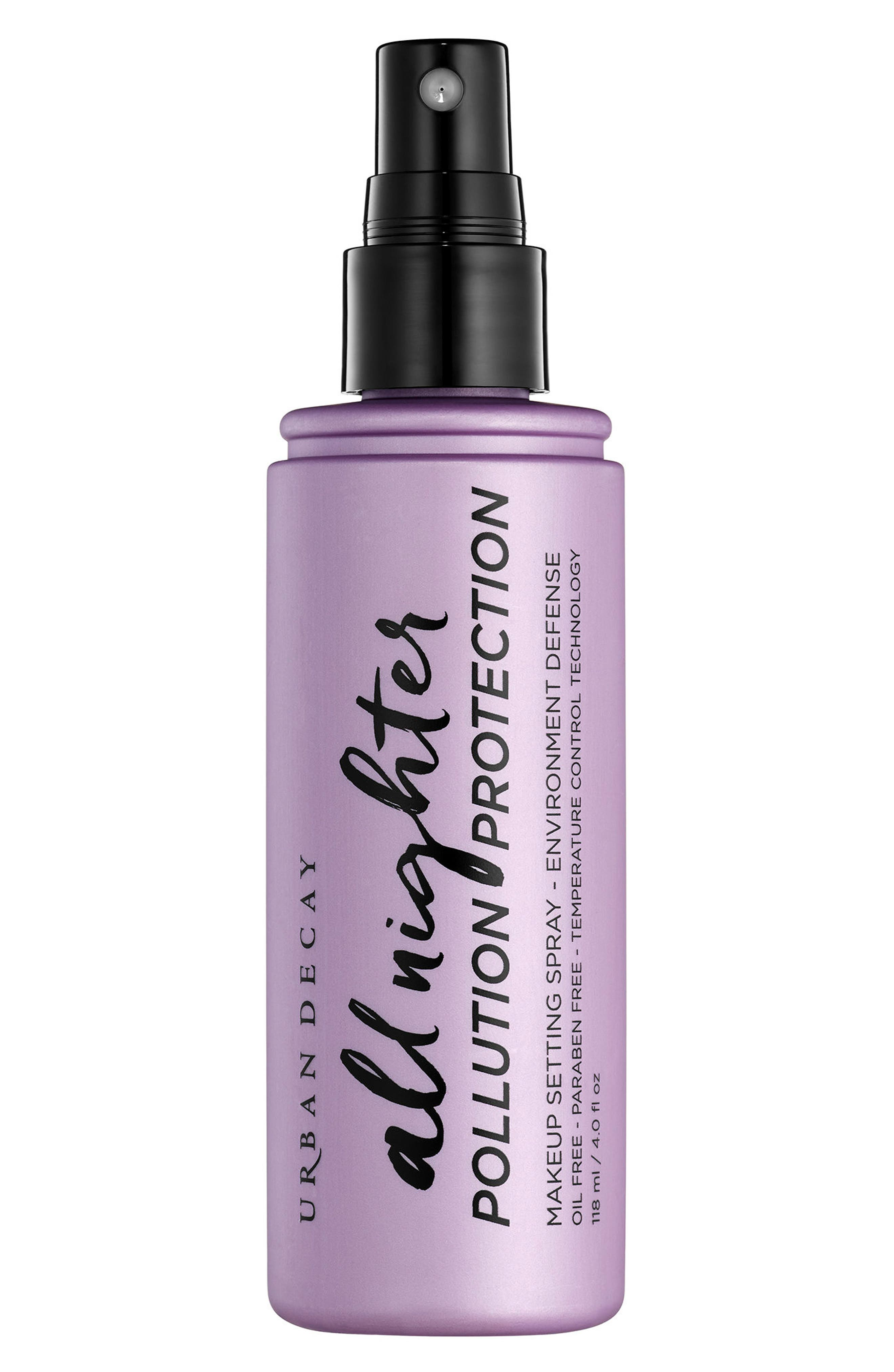 All Nighter Pollution Protection Environmental Defense Makeup Setting Spray,                             Alternate thumbnail 2, color,                             No Color