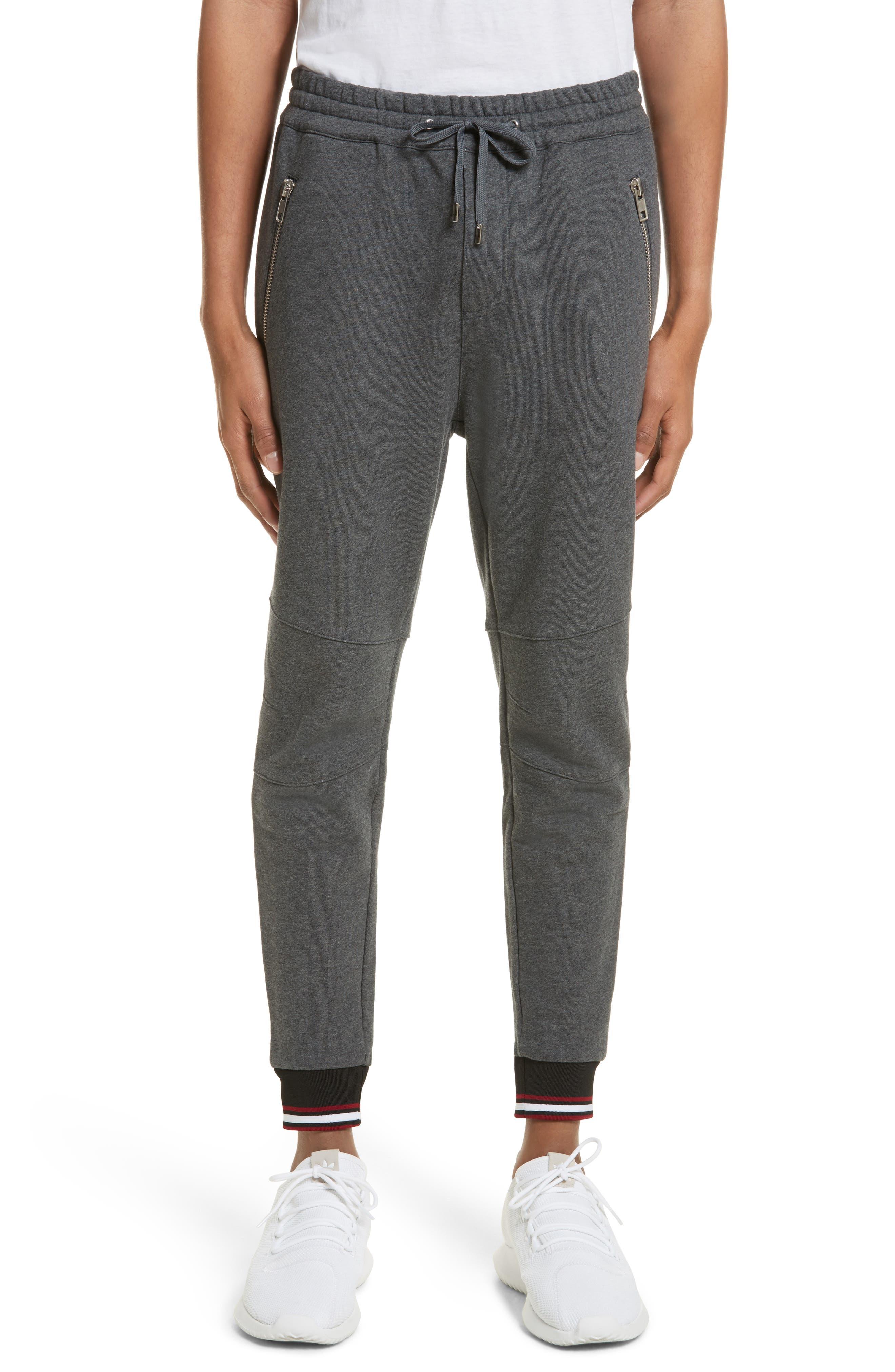 Knit Joggers,                         Main,                         color, Grey