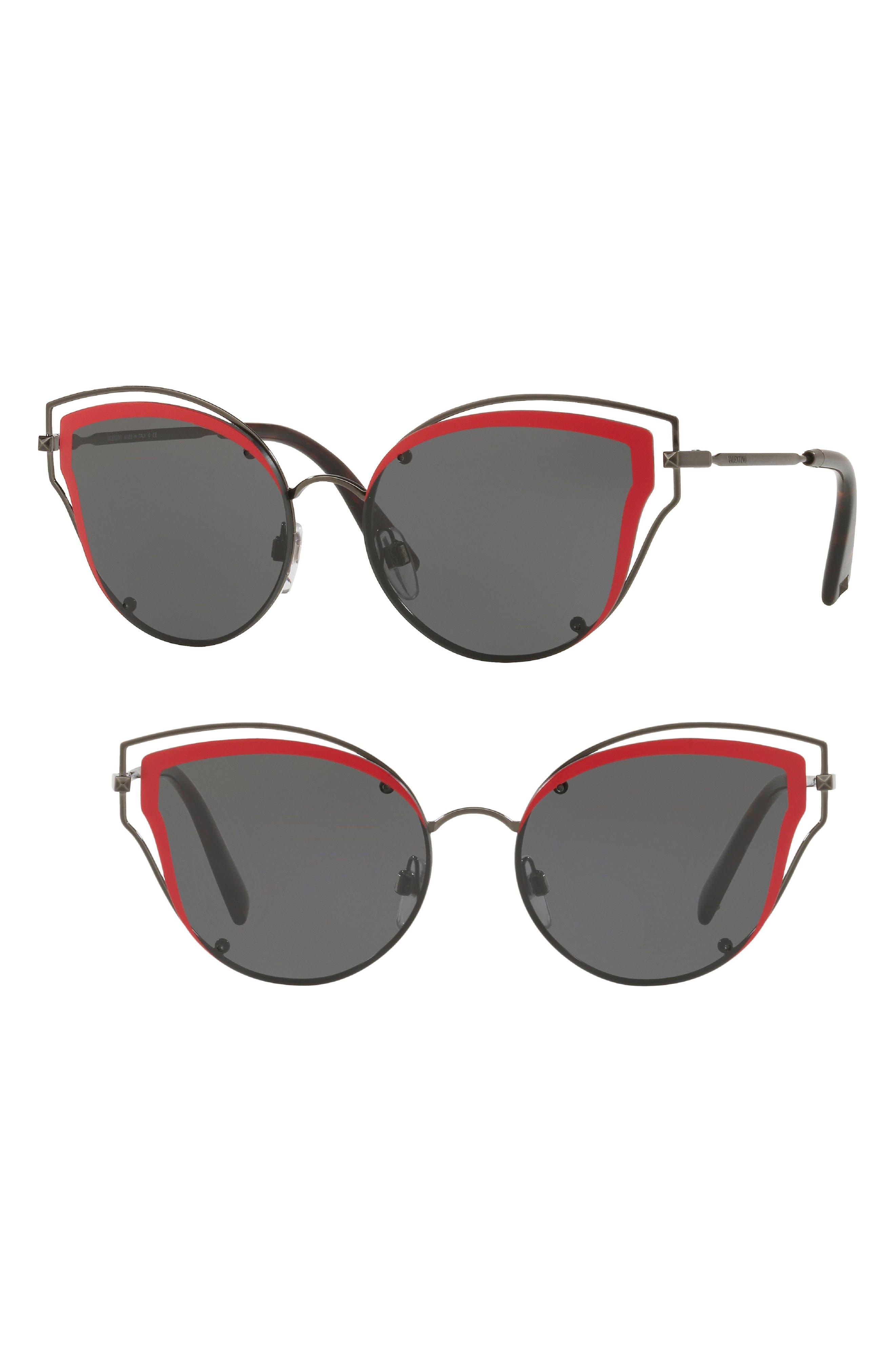 Valentino 58mm Cat Eye Sunglasses
