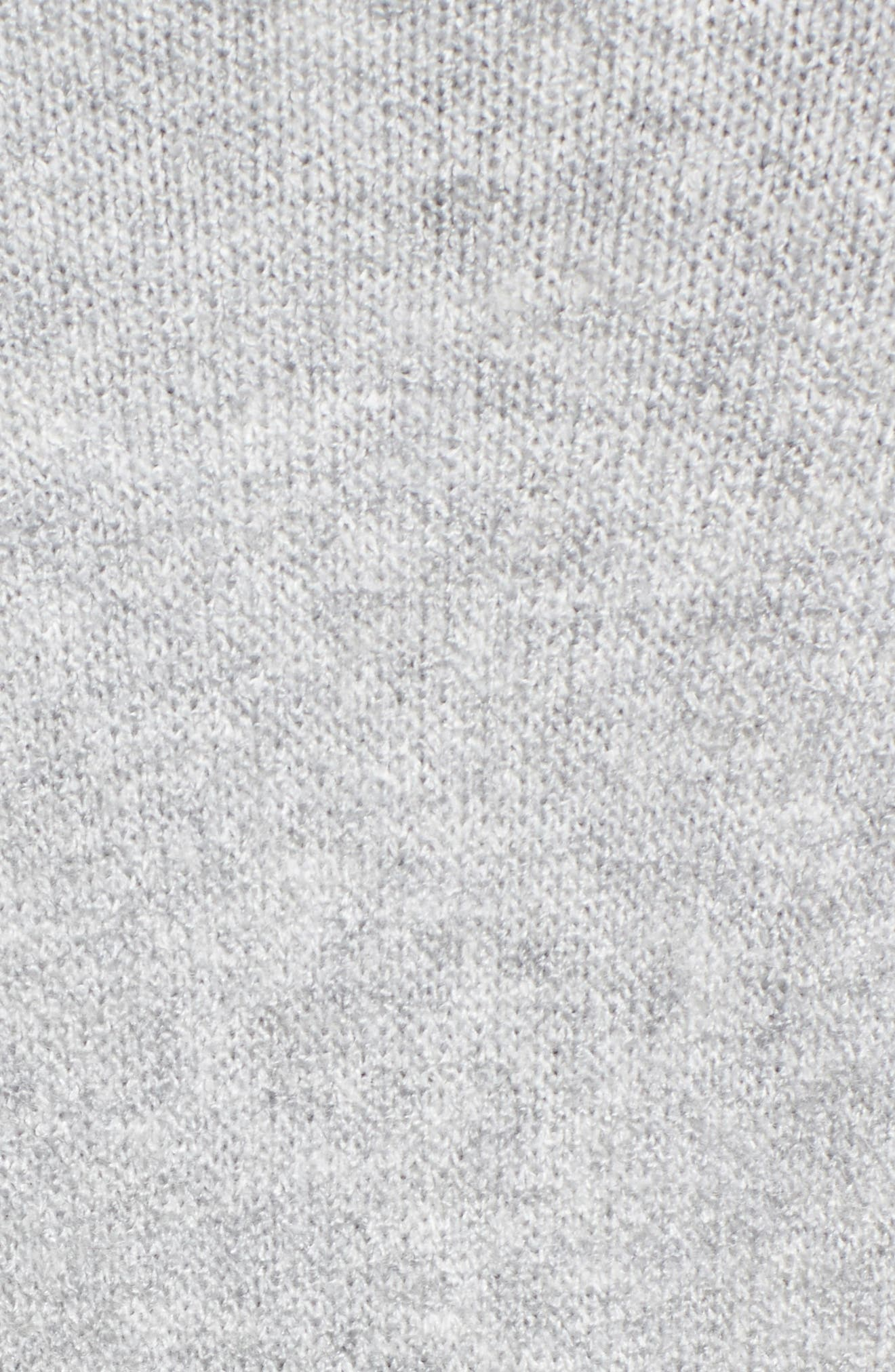 Longline Cardigan,                             Alternate thumbnail 5, color,                             Grey Heather