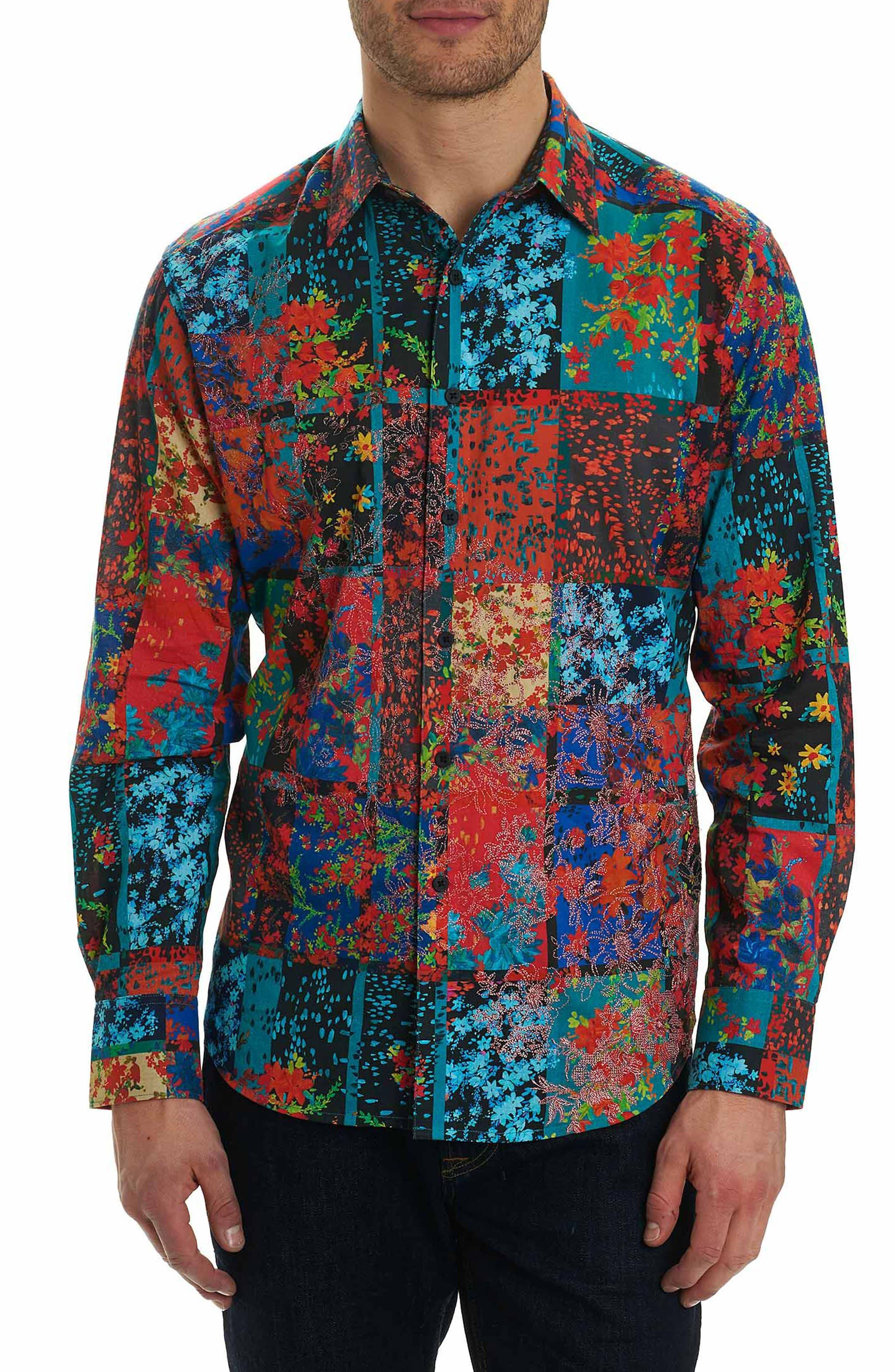 Main Image - Robert Graham Shiraz Classic Fit Sport Shirt