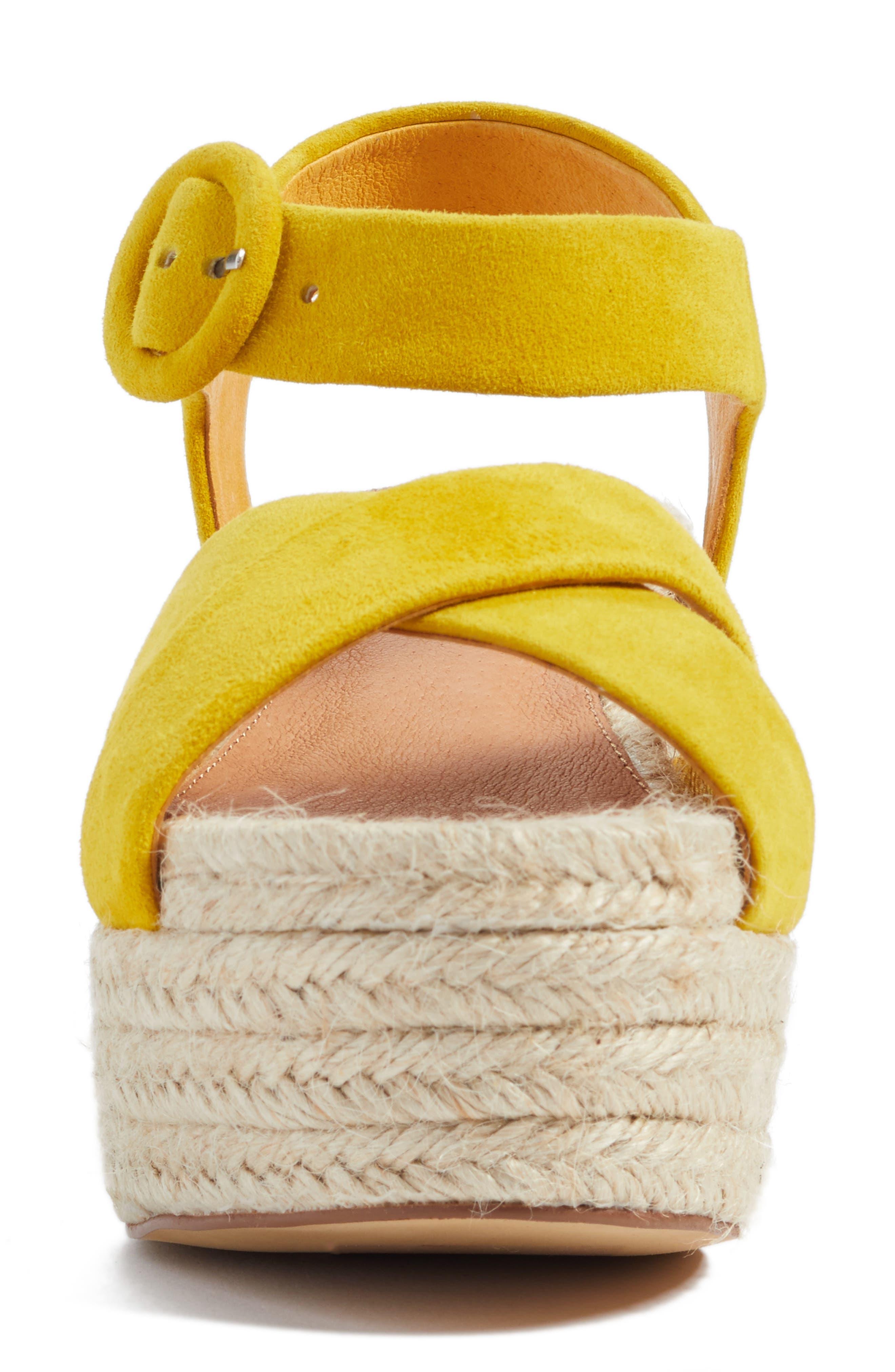 Alternate Image 4  - Halogen® Emery Platform Espadrille Sandal (Women)
