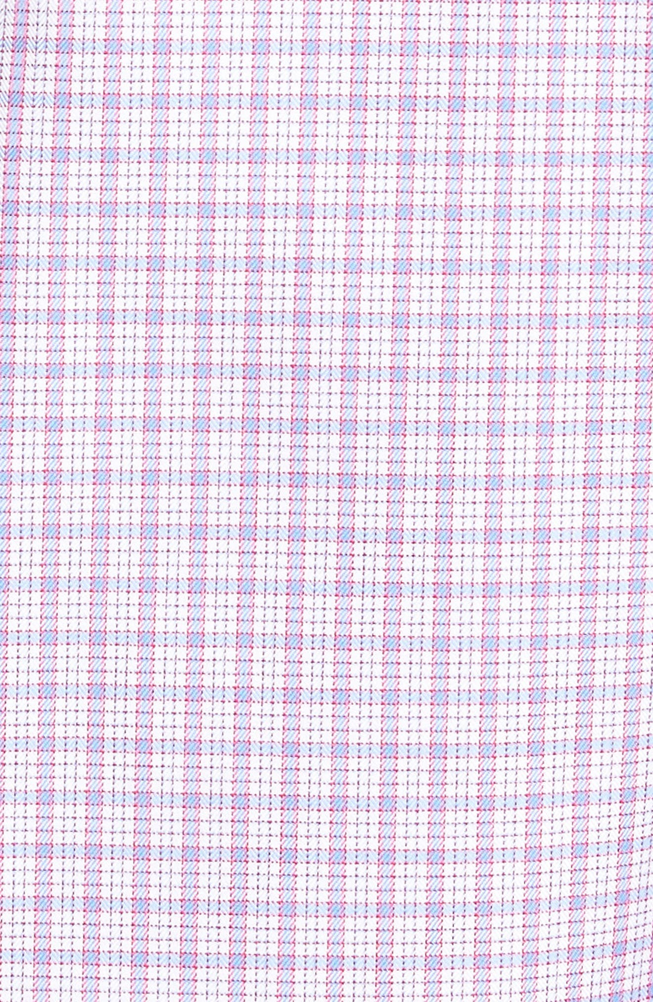 Check Sport Shirt,                             Alternate thumbnail 5, color,                             Pink