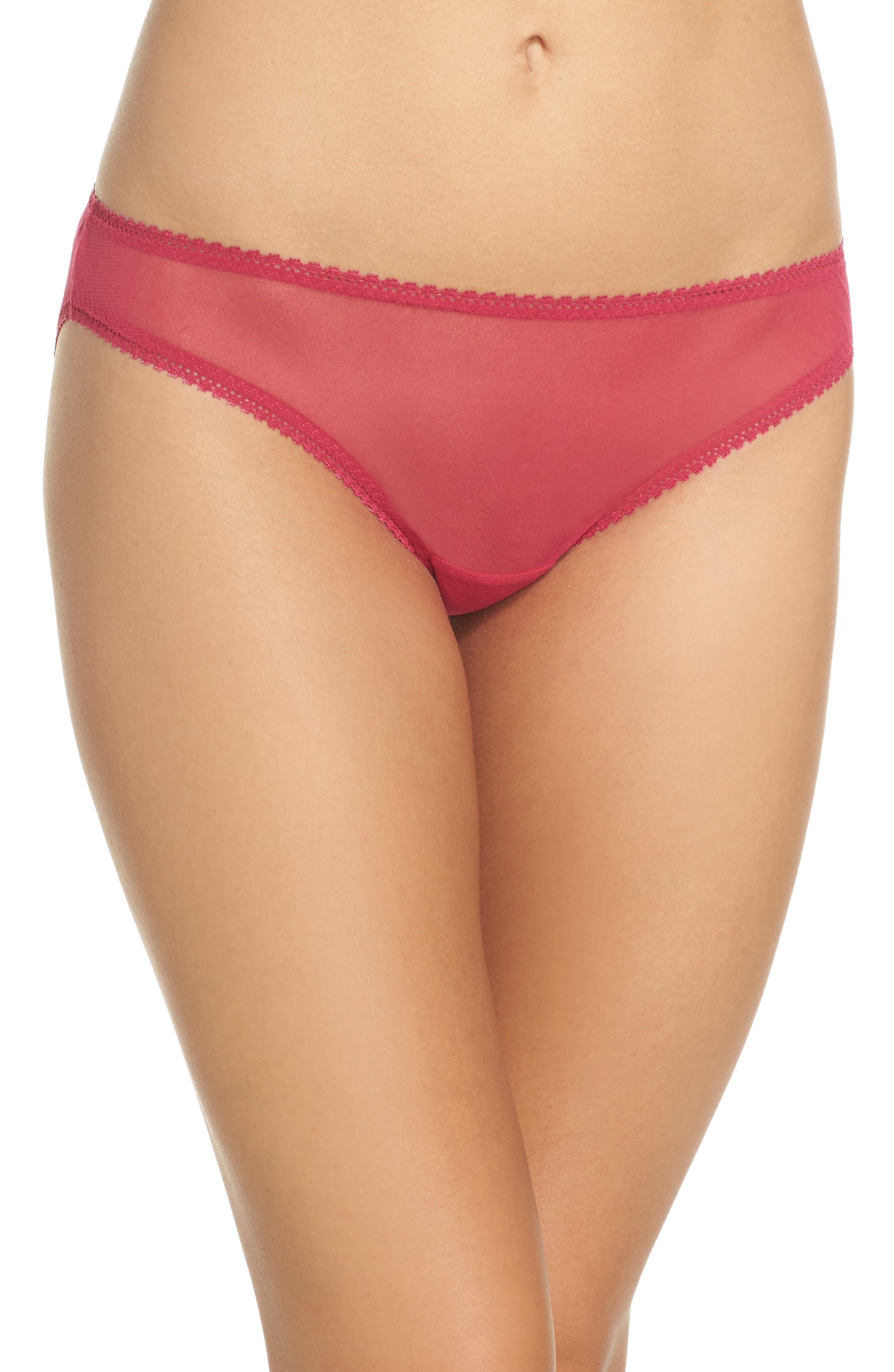 On Gossamer Mesh Bikini (3 for $45)