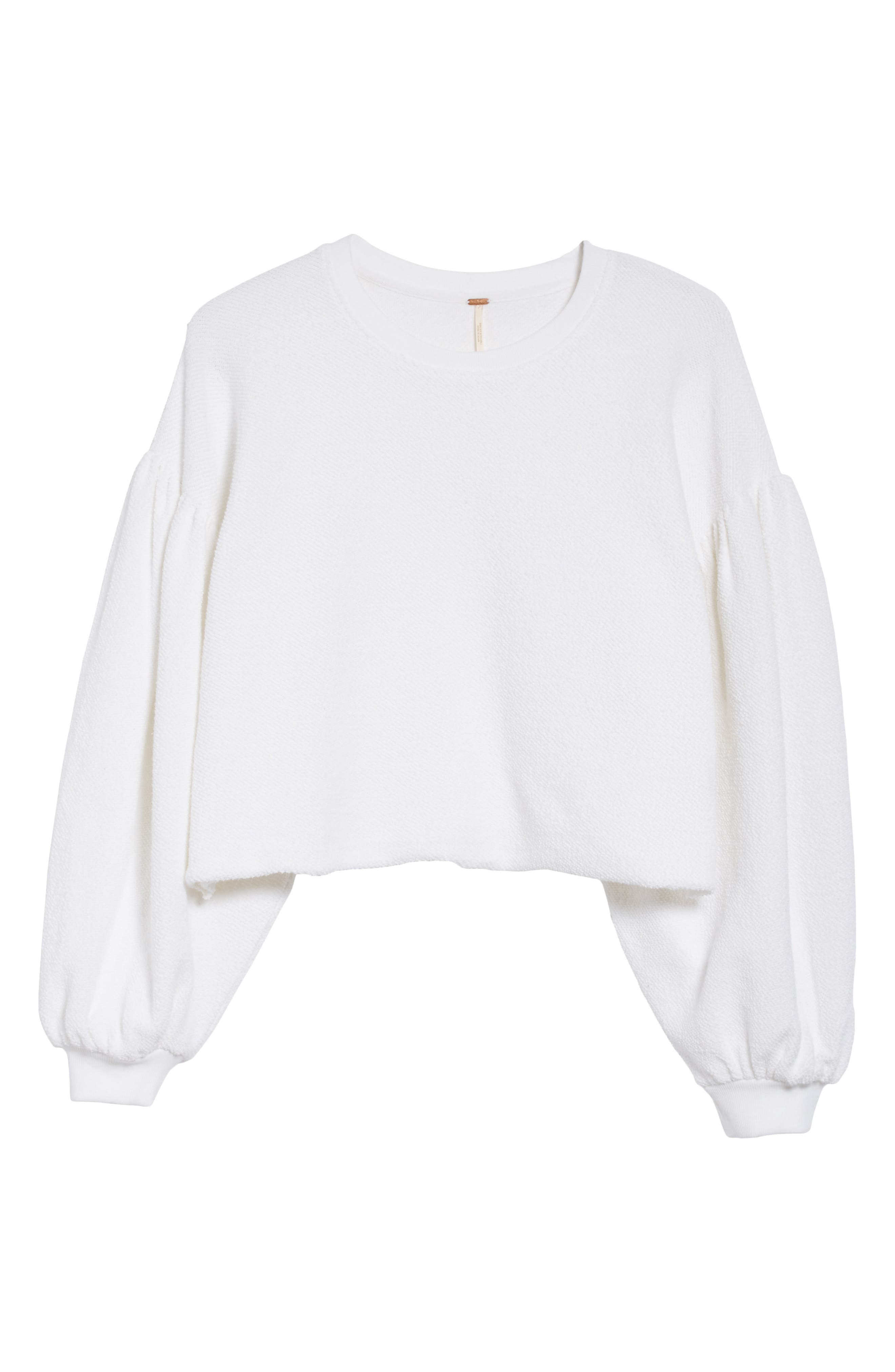 Sleeves like These Sweater,                             Alternate thumbnail 6, color,                             White