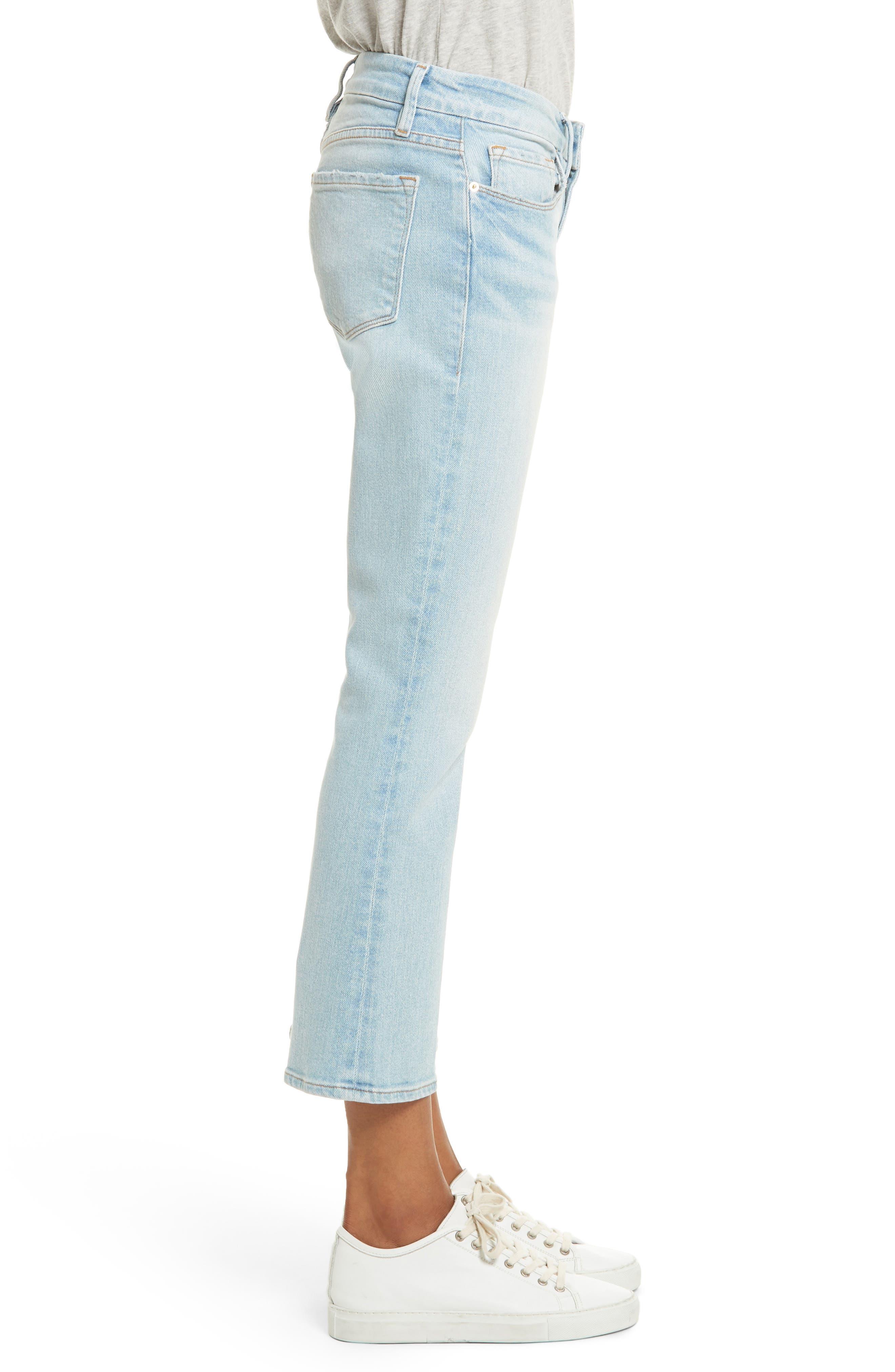 Le Crop Mini Boot Jeans,                             Alternate thumbnail 3, color,                             Adeline