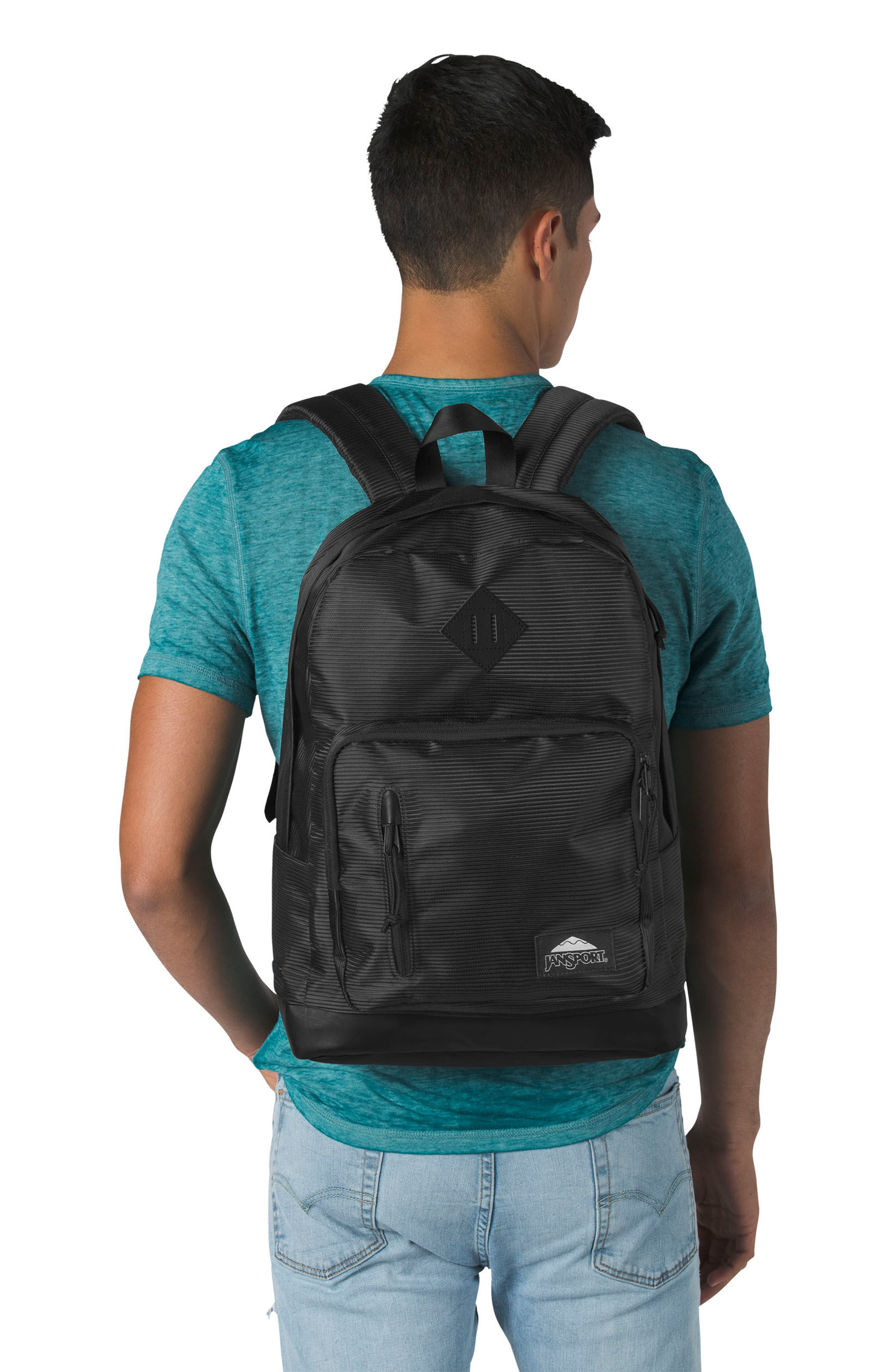 Axiom Backpack,                             Alternate thumbnail 2, color,                             Black Line