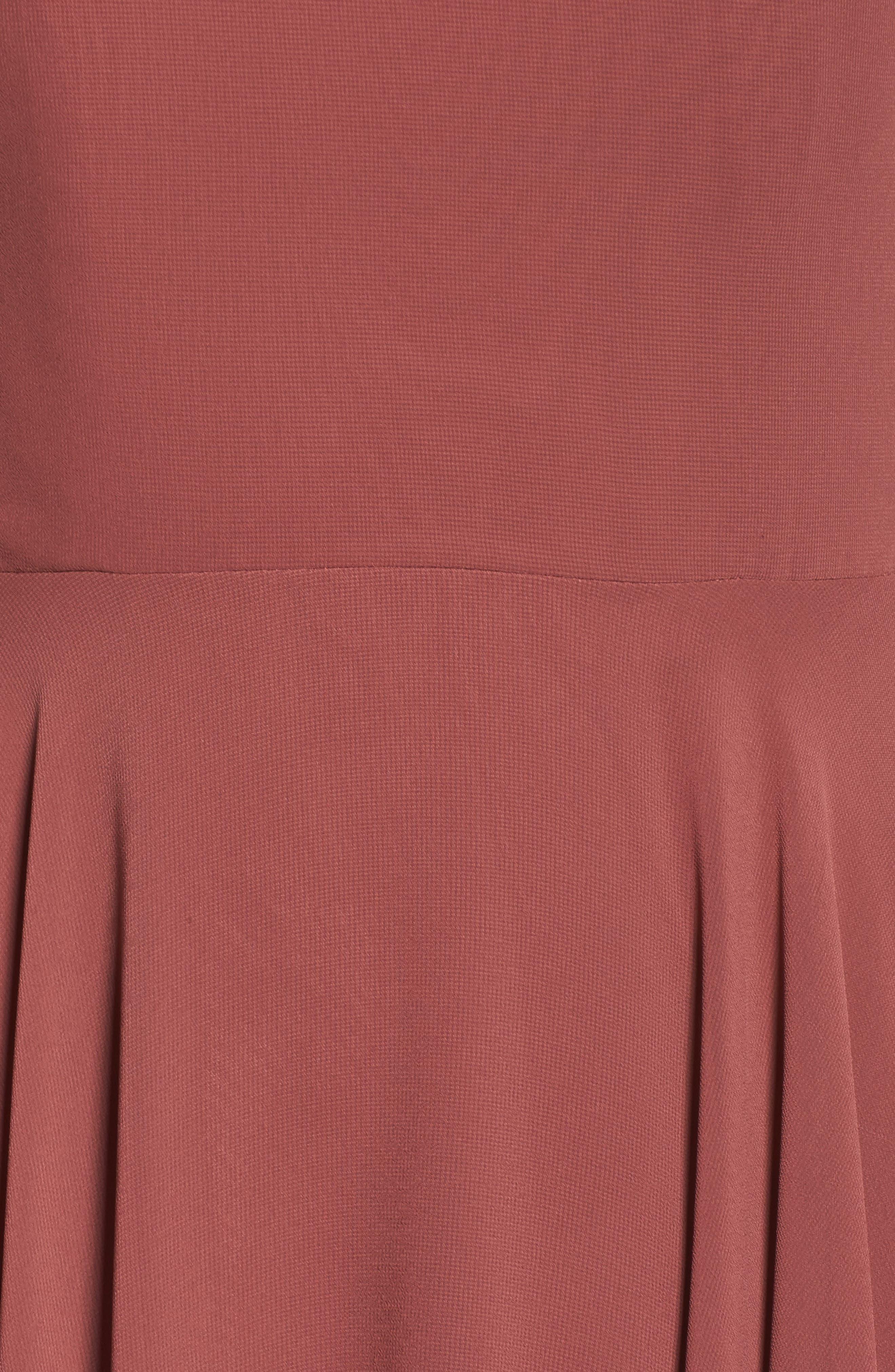 Alternate Image 5  - Jenny Yoo Elizabeth Chiffon Gown