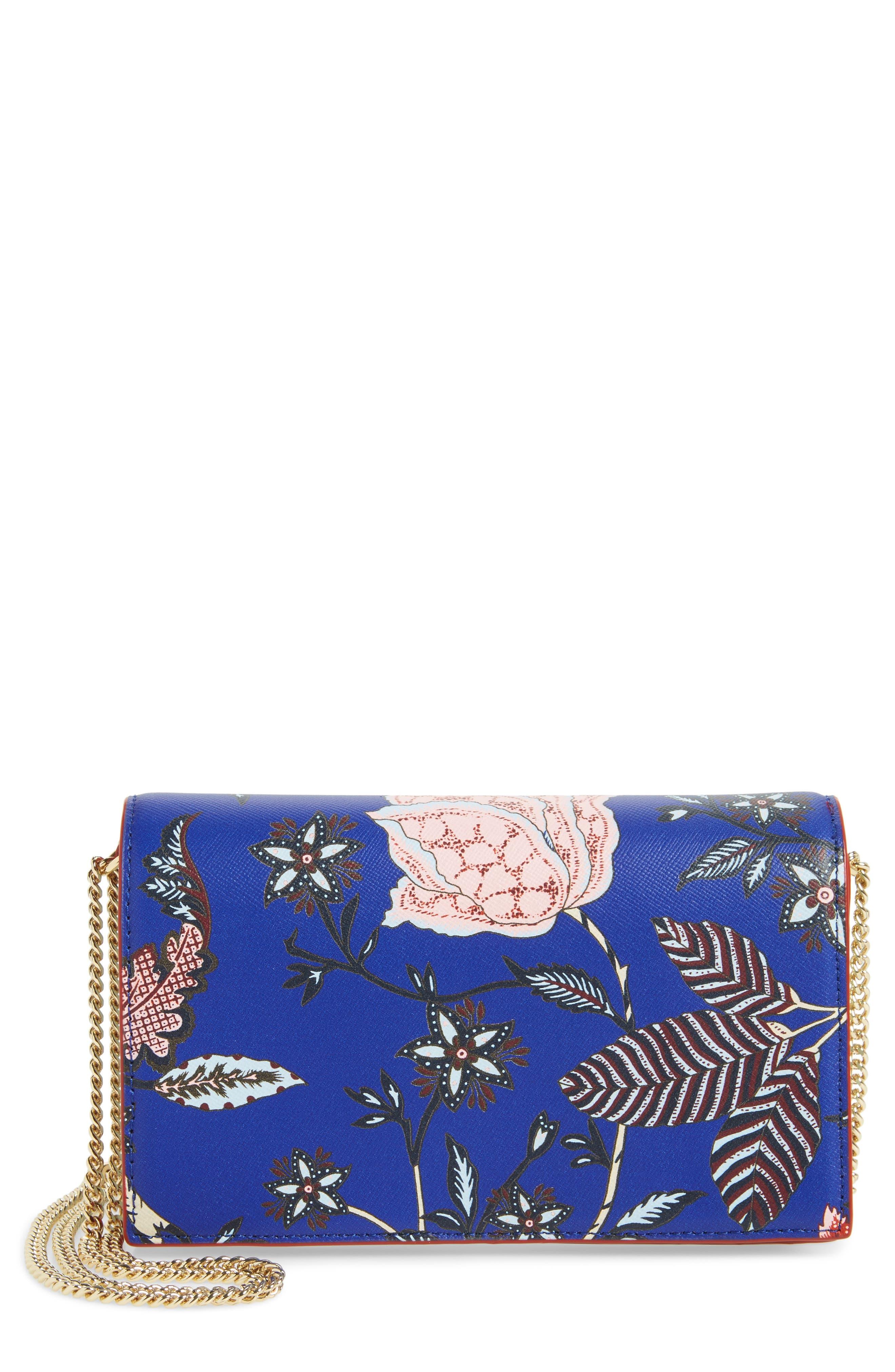 Alternate Image 1 Selected - Diane von Furstenberg Soirée Leather Convertible Crossbody Bag
